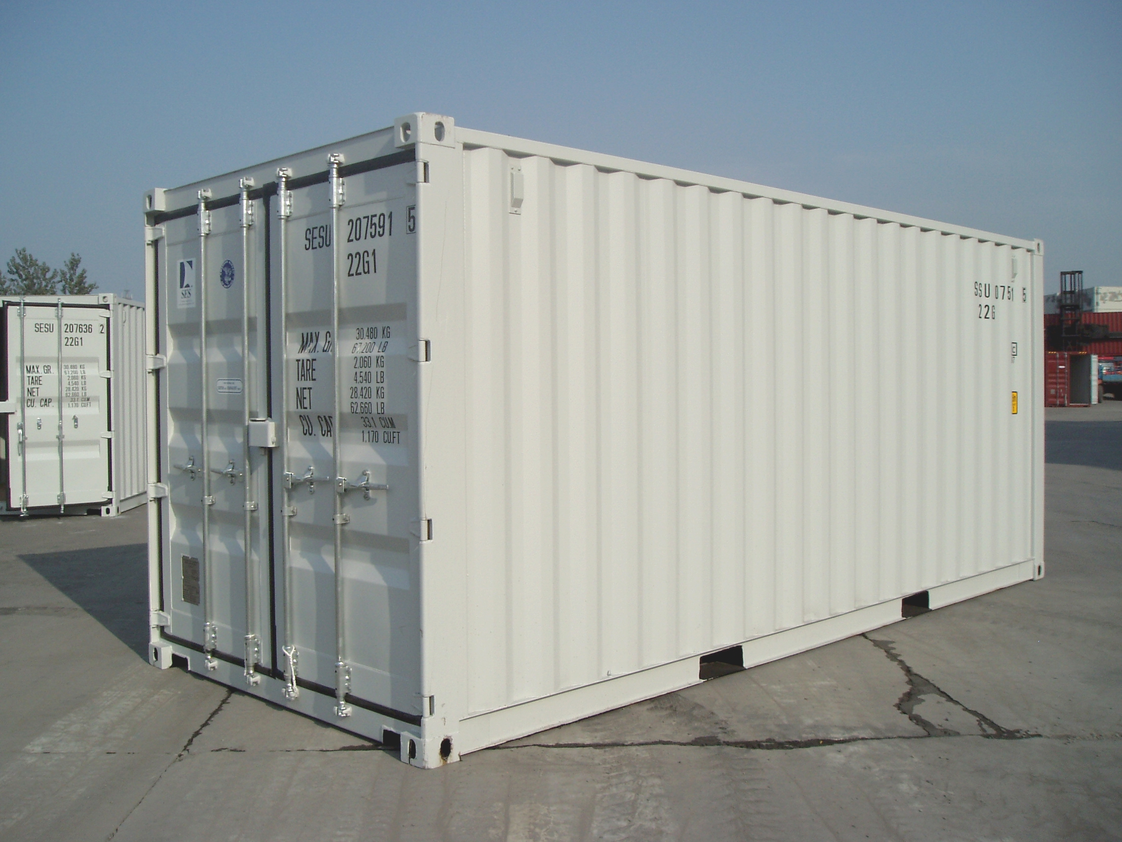 NEW (ONE TRIP) 20' STANDARD CONTAINER
