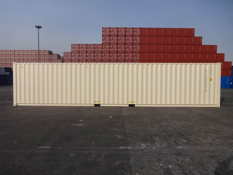 NEW (ONE TRIP) 40' STANDARD CONTAINER