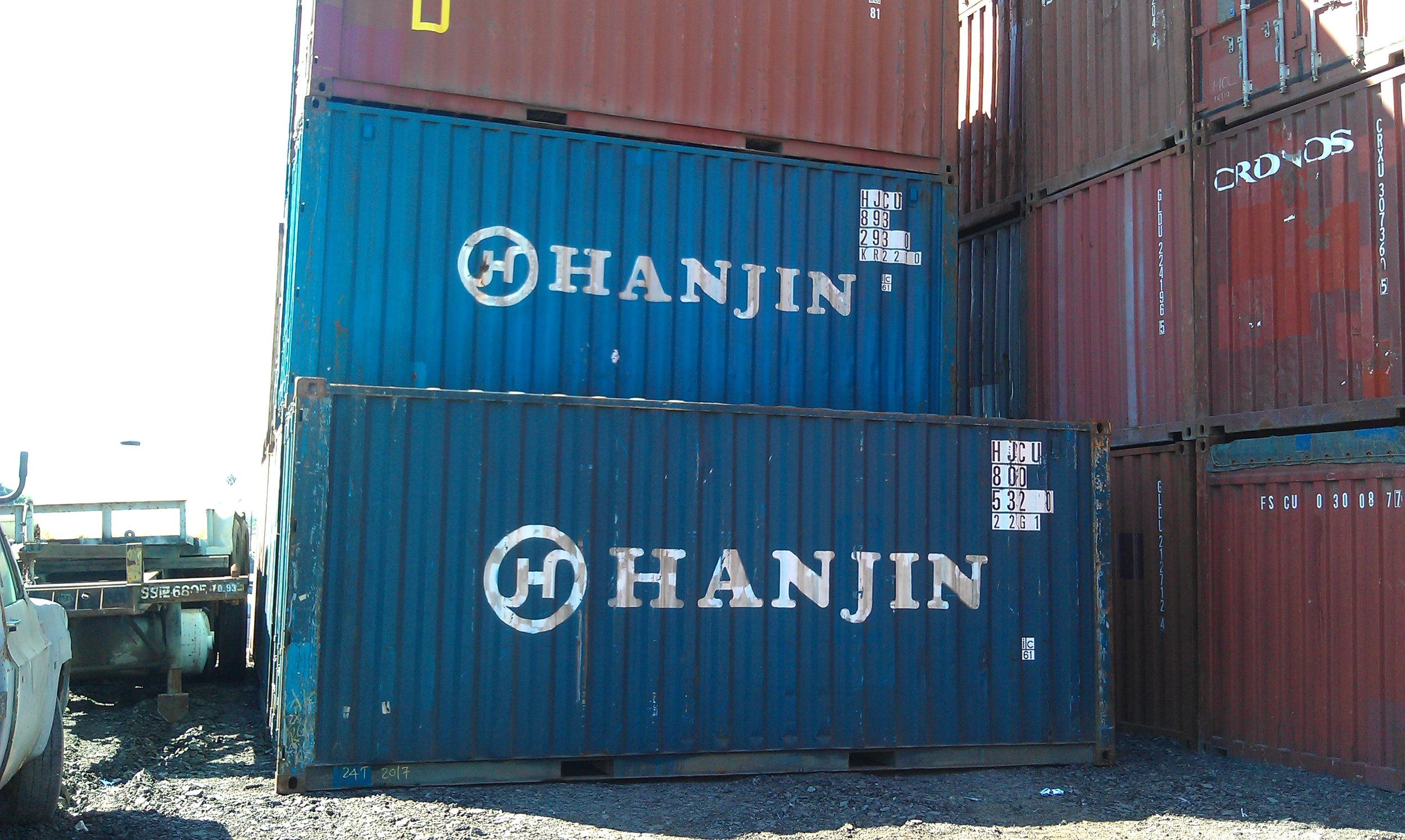 USED 20' STANDARD CONTAINERS