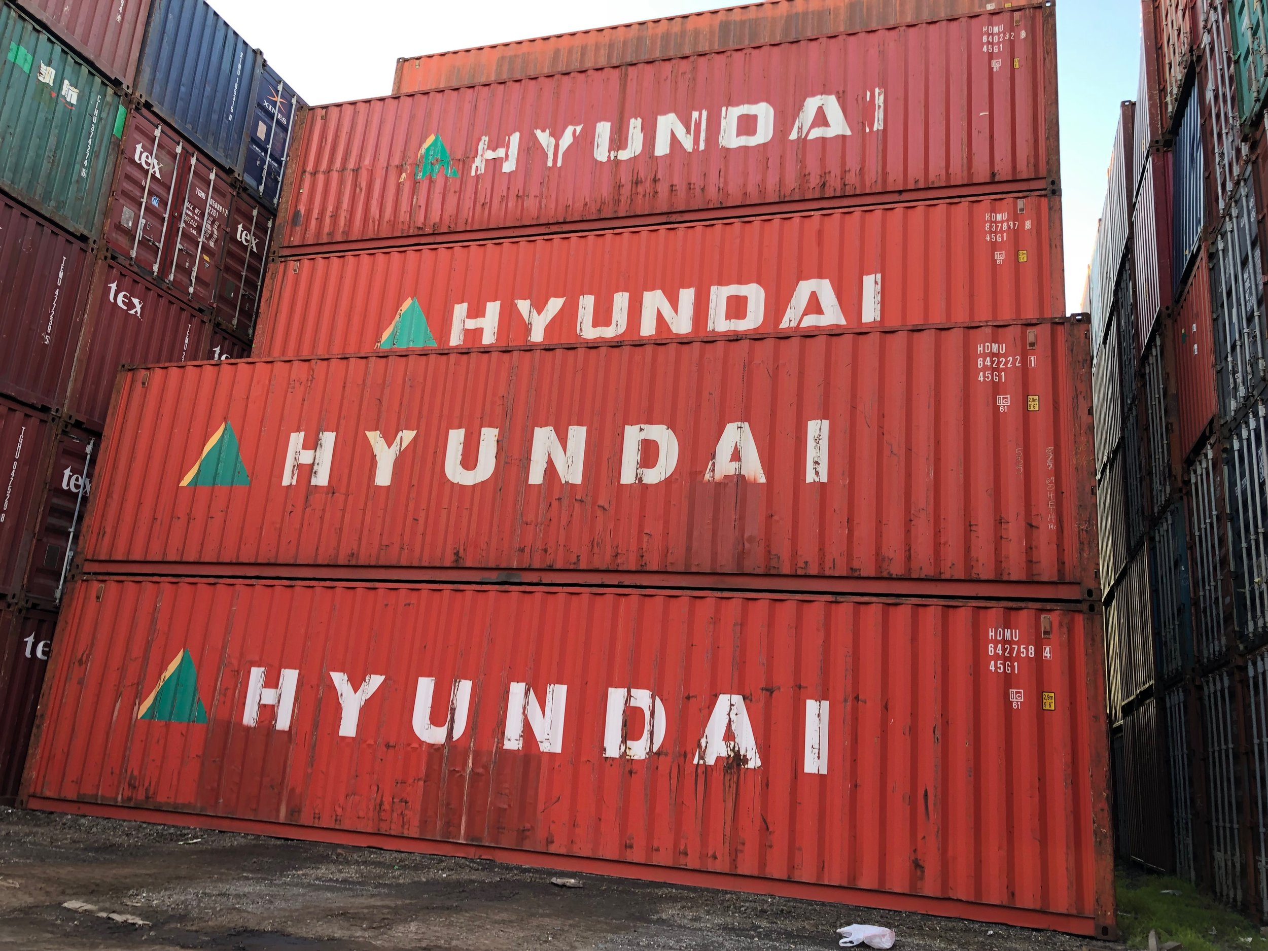 USED 40' STANDARD CONTAINERS