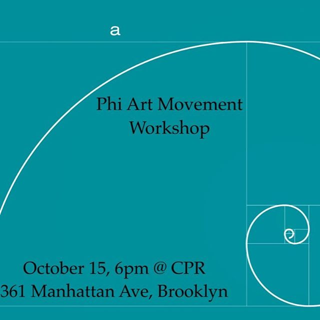 Come join us for an exciting improvisational workshop this October. 15!