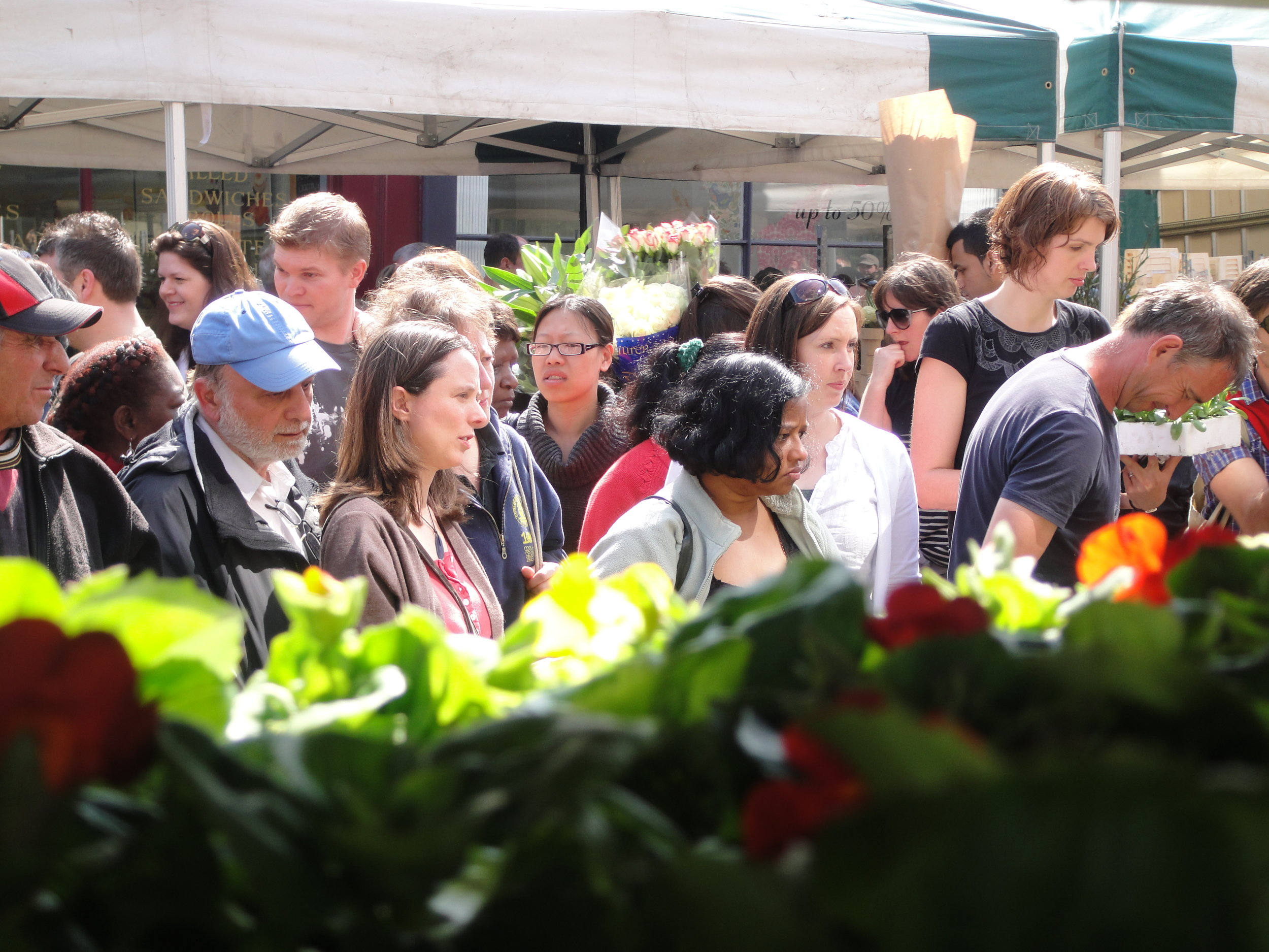 Columbia Road Markets 18 April