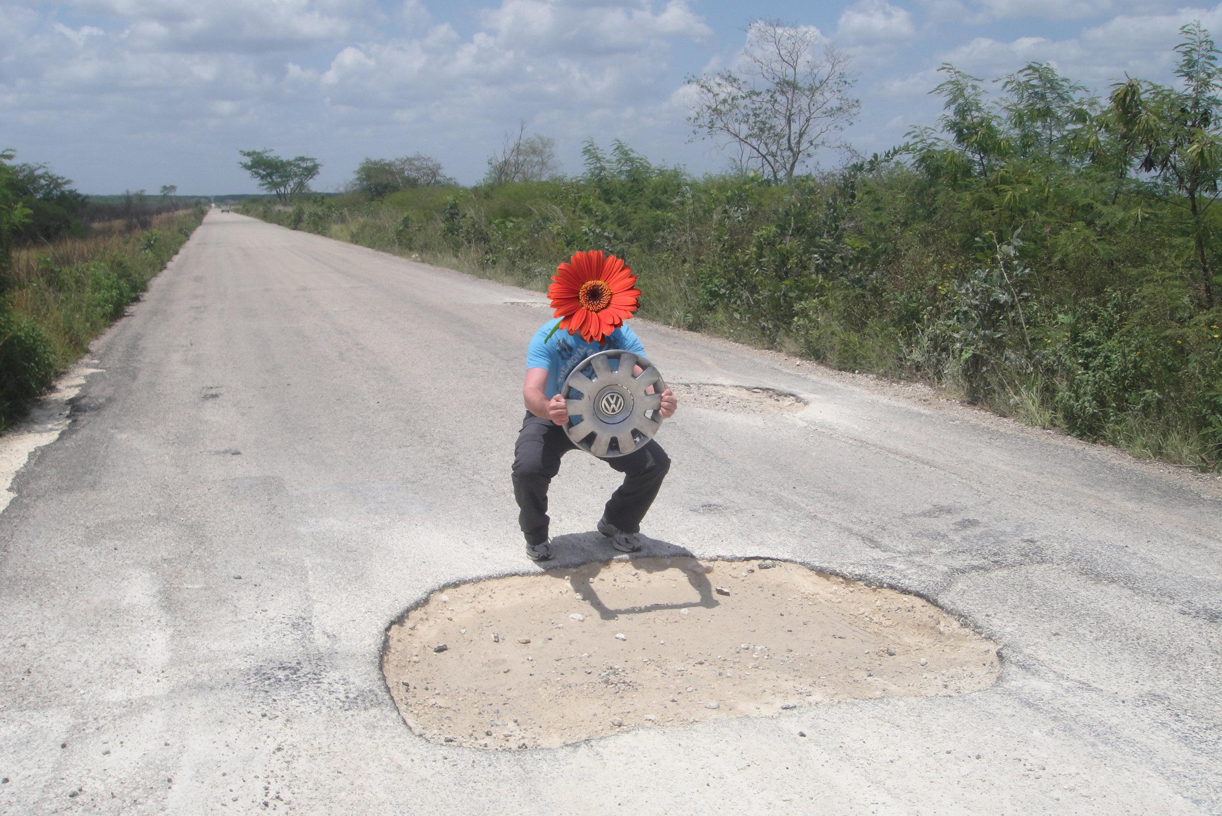 mexico pothole