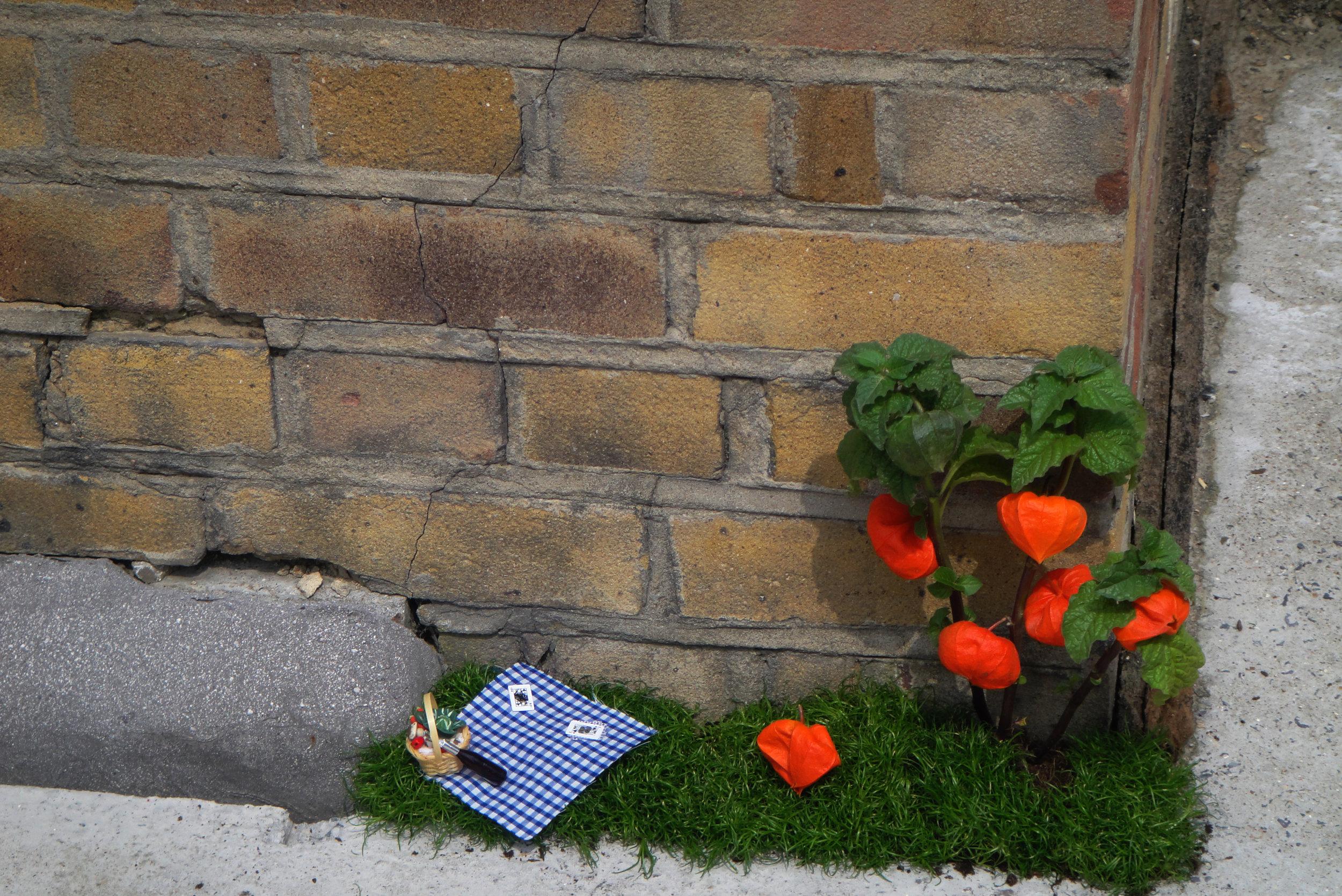 Pothole gardener Story Worldwide Westfield Stratford Opening