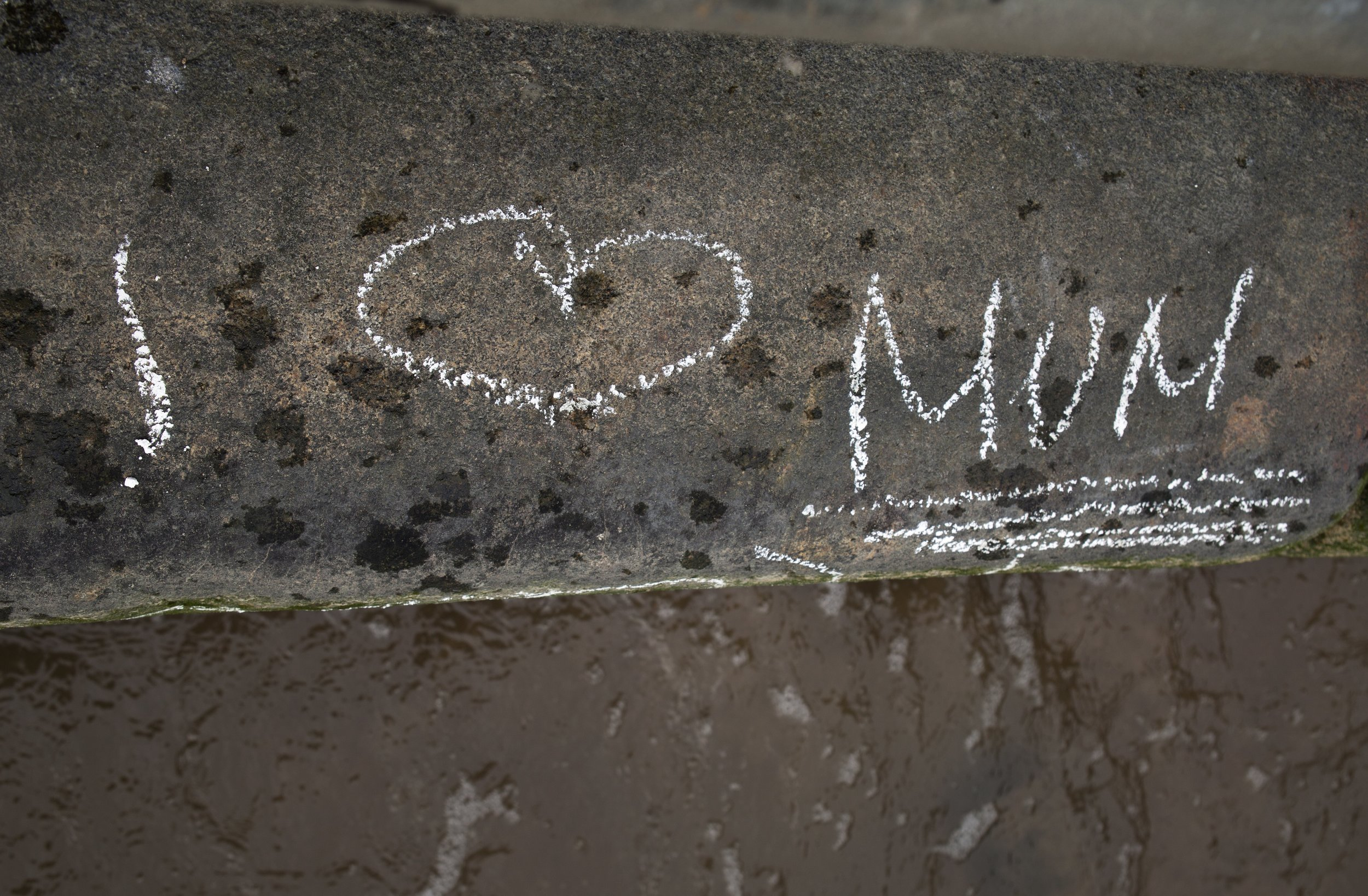 I love mum london graffiti