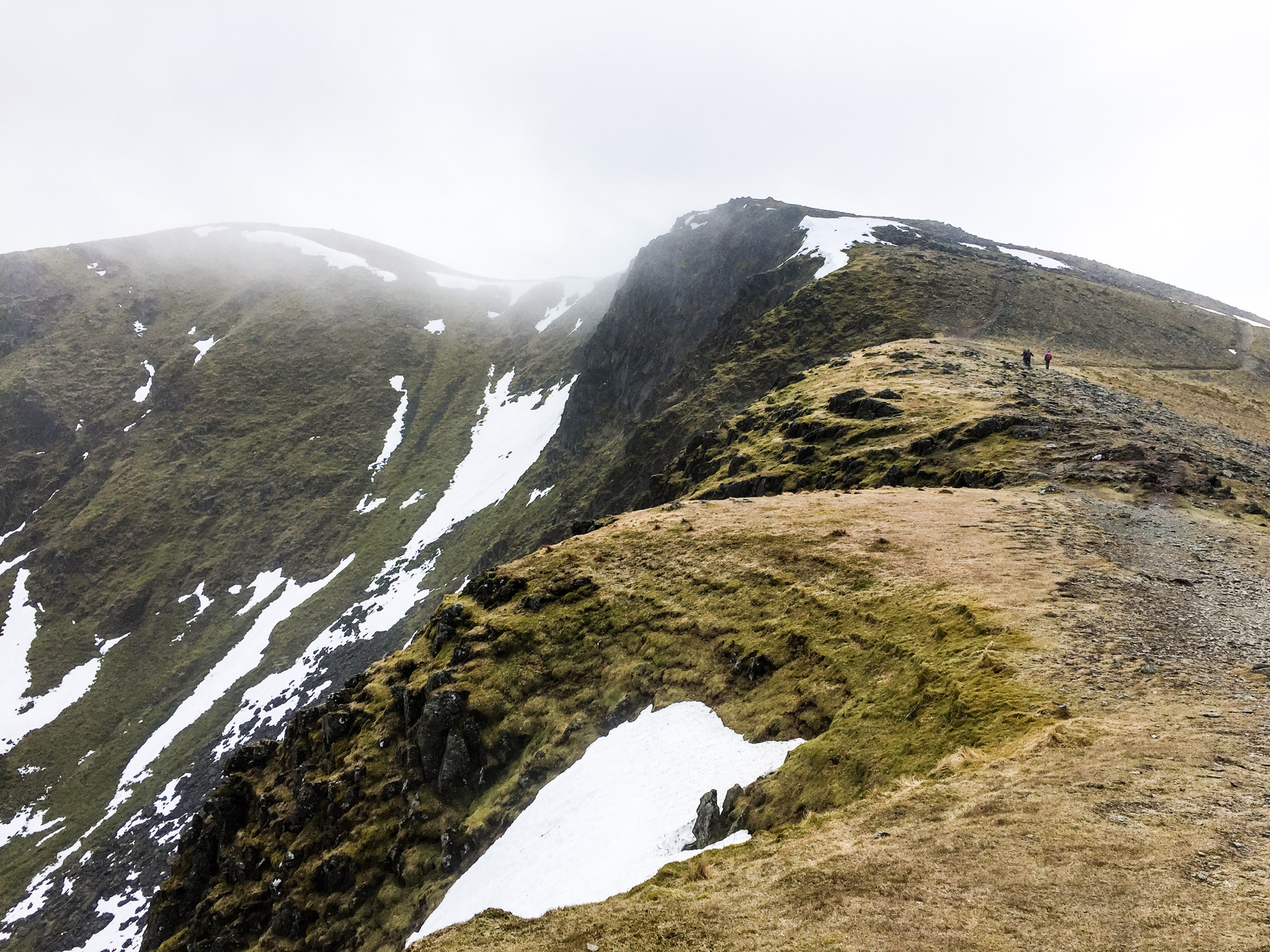 Nethermost Pike in the distance