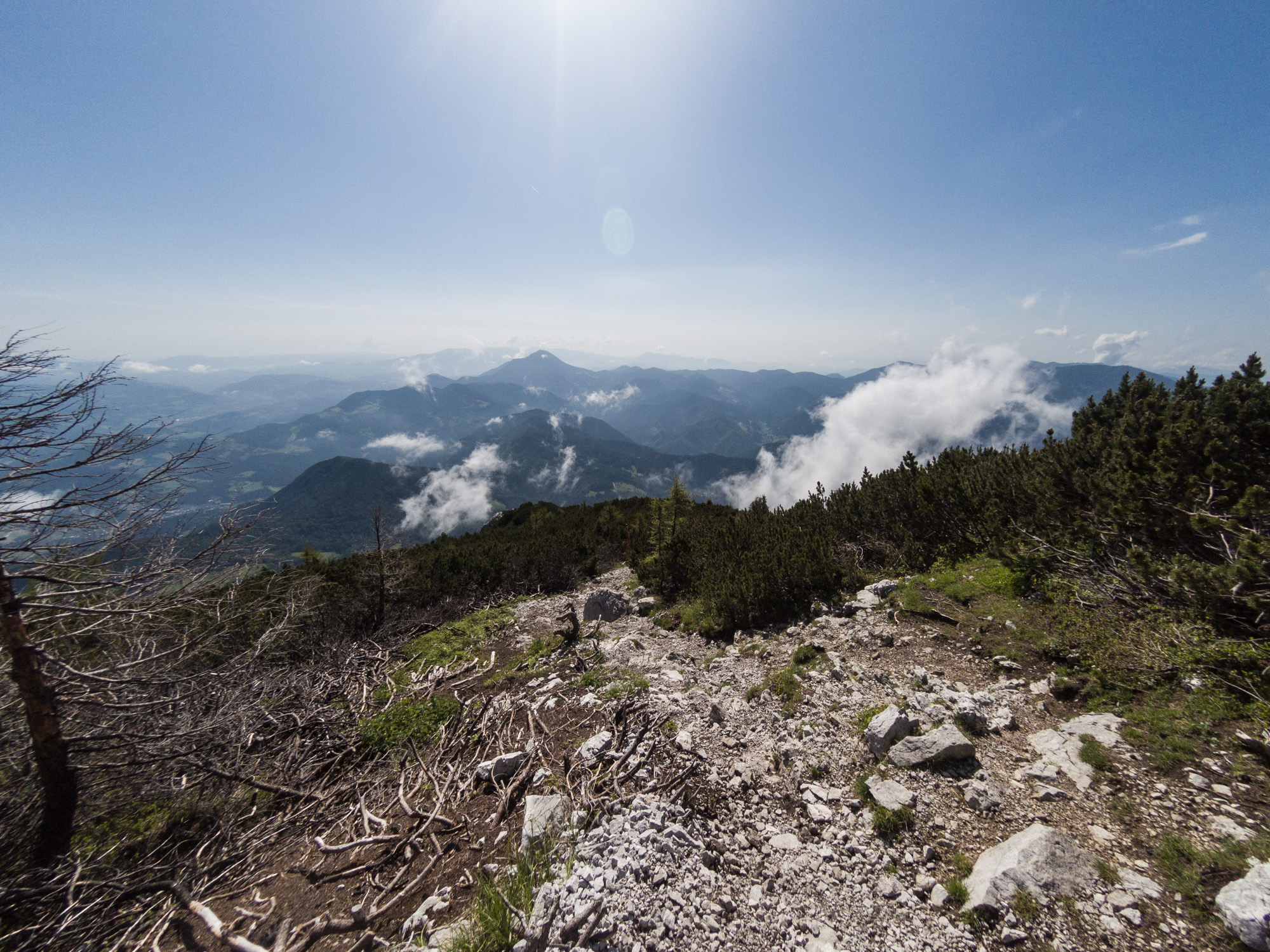 Urslja gora  in the distance