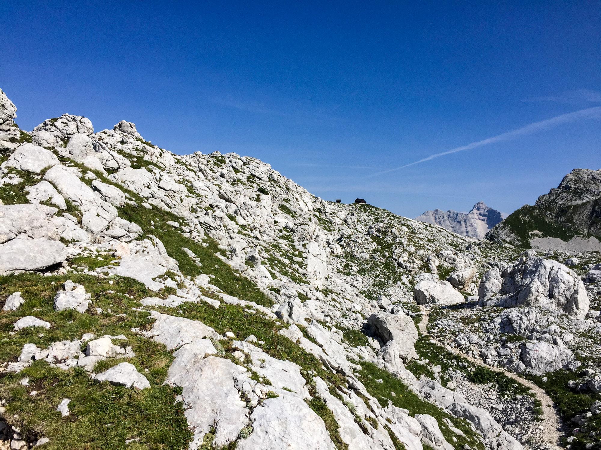 Zasavska Koca refuge (at the top of the trail)