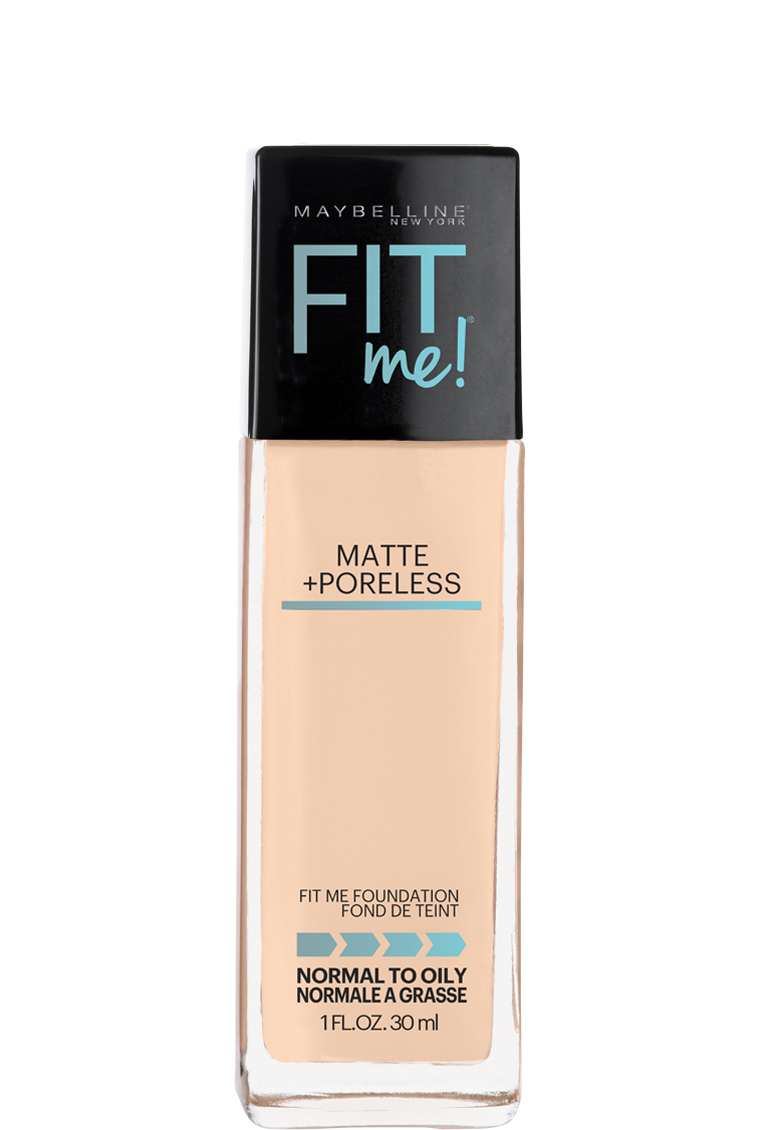 best foundation for oily skin maybelline