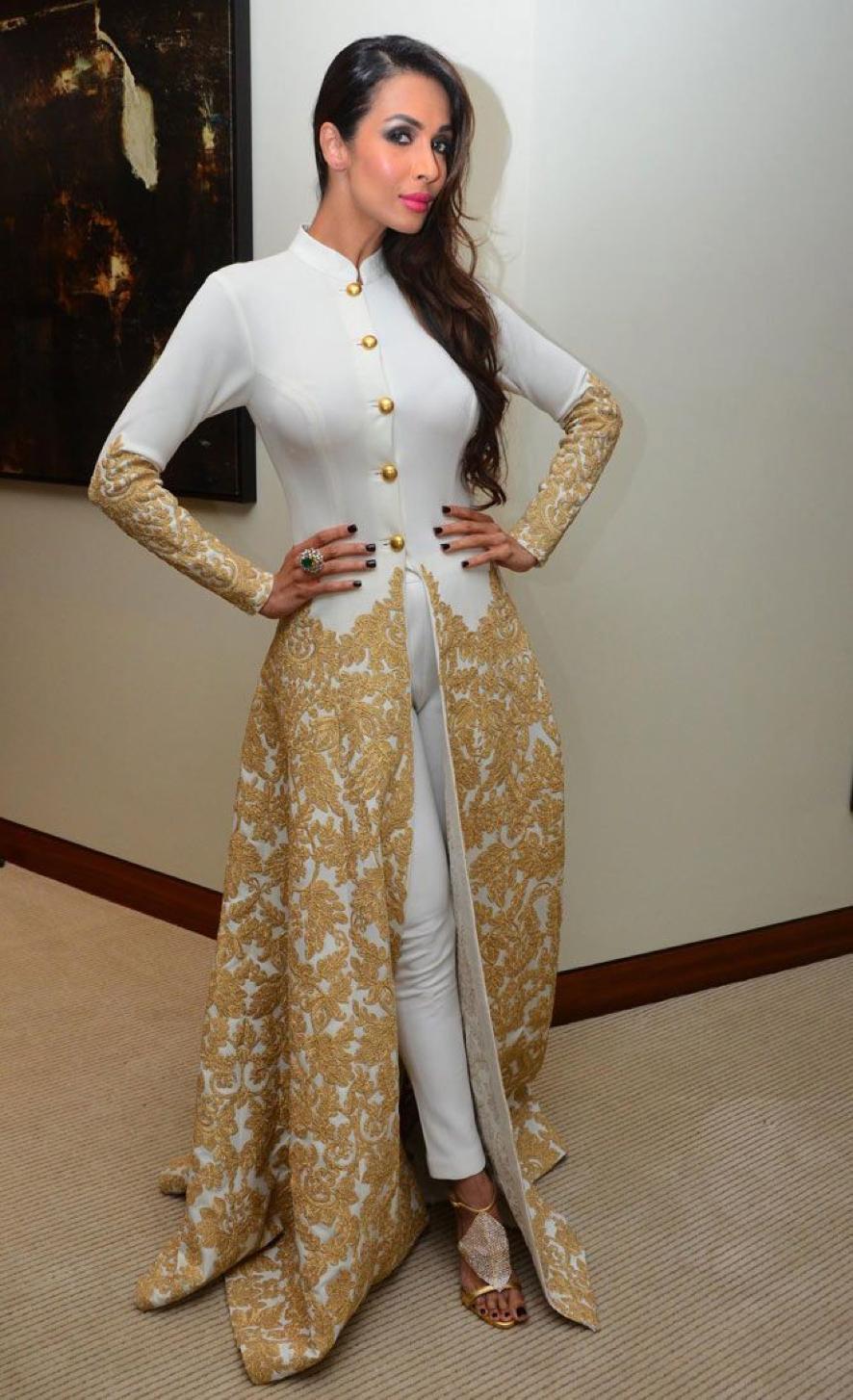 Malaika cape indian wear