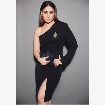 kareena Kapoor black dress