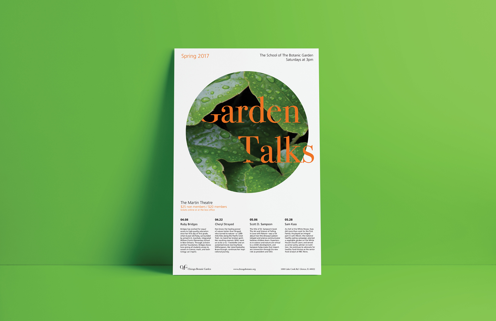 Garden Talks Series Poster