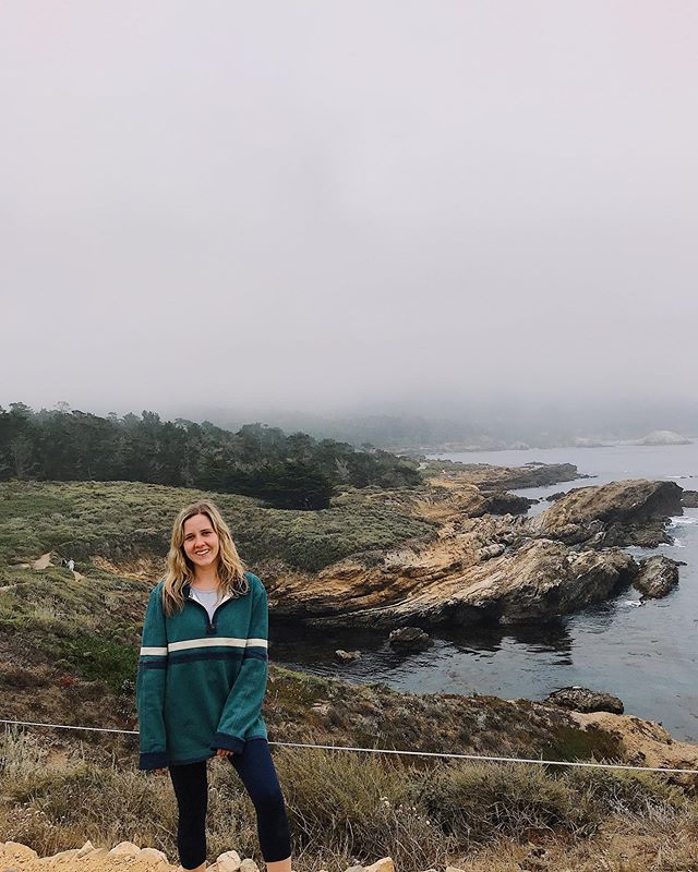 """One time in middle school I wore flip flops on a hike. Now I am calm, careless, one with the wind, the sun, the fog, and nature. Have I pitched a tent? Nope, but in my experience loving the earth has less to do with living in it and more to do with yelling """"THIS IS SO PRETTY!!!"""" at vista points a dozen other tourists are already taking pictures at. My Travel Channel series has already won six Emmy's and that's before it's first episode has even been produced. Critics are Tweeting """"This city girl finding nature is the most unnecessary thing we've seen all summer"""" and I??? Am spending my millions on a luxury hotel a quick Uber from the sea. 🎀🛍💖"""