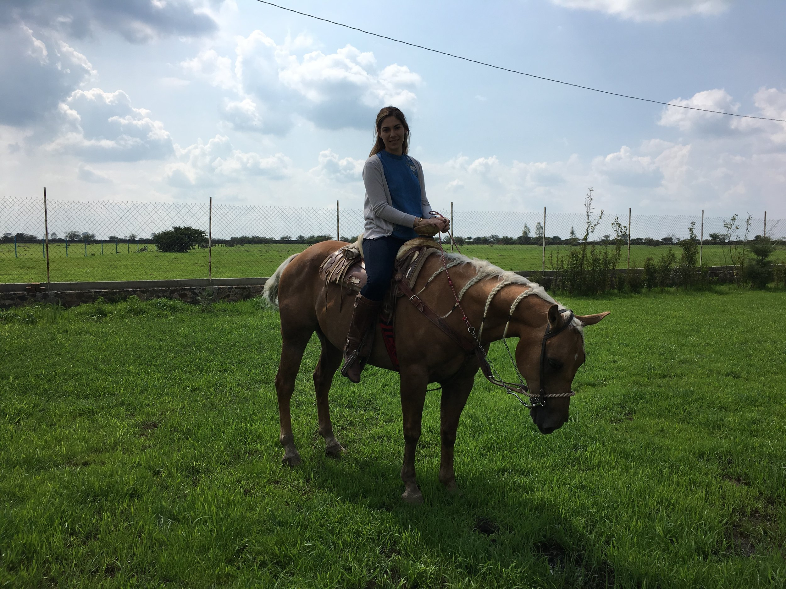 Horseback Riding in Capilla de Guadalupe.