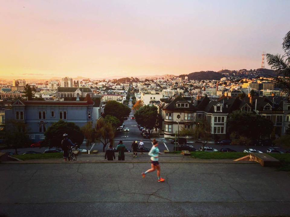 Photo by: Matt Schaar, November Project San Fran* [*disclaimer: I do not live in SF, despite what others may tell you]