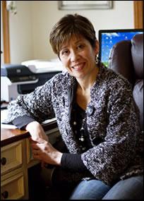 Liliane Larsen owner of Larsen Bookkeeping
