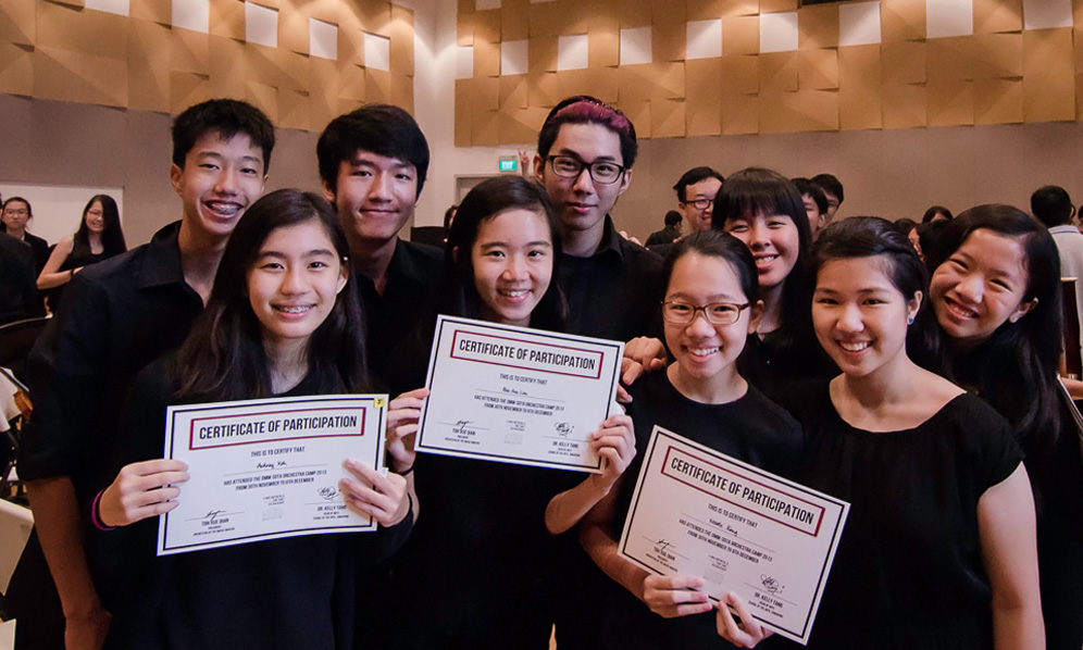 2013 - OMM hosts its first Orchestra Camp in collaboration with SOTA
