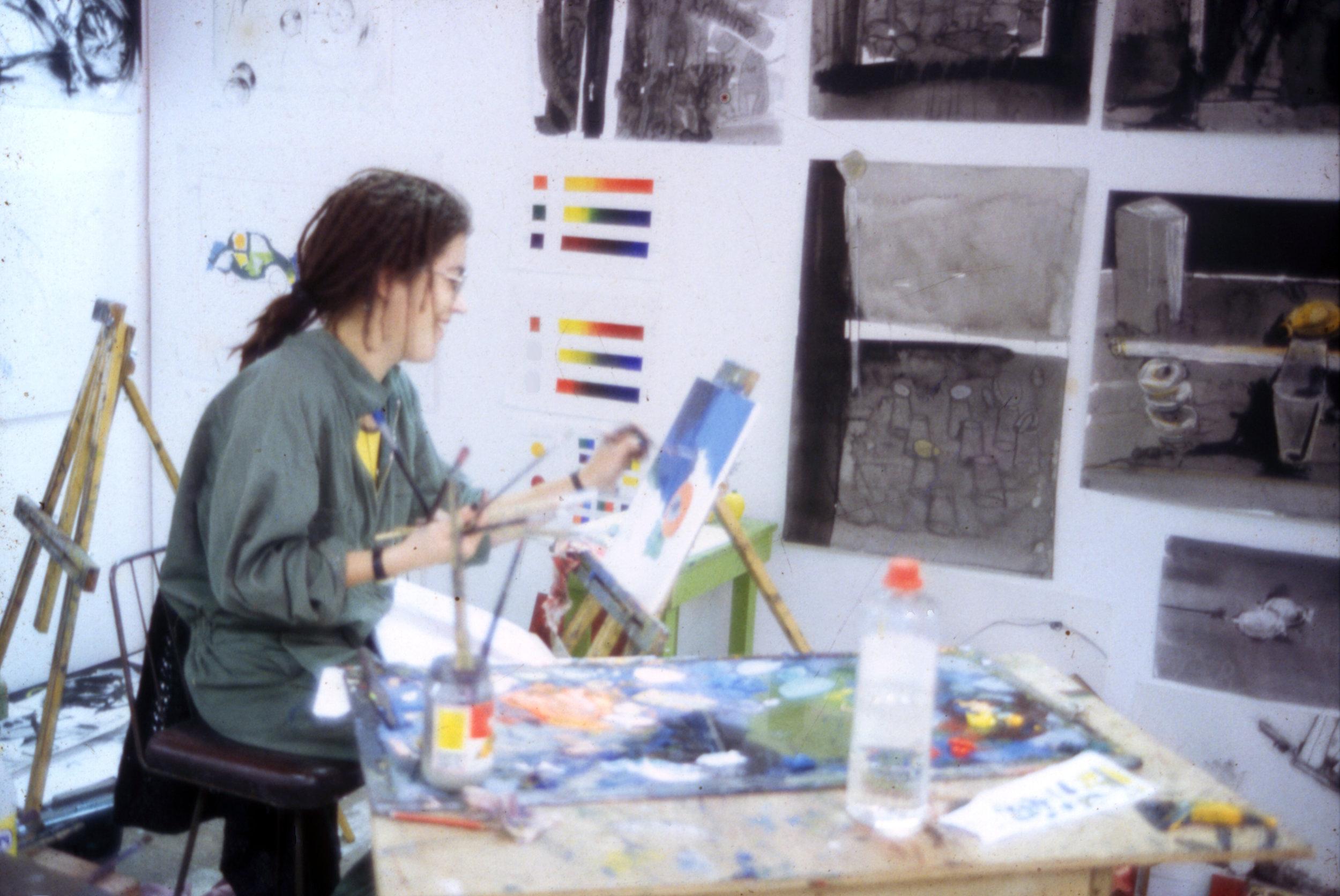 Art School kid back in the day...