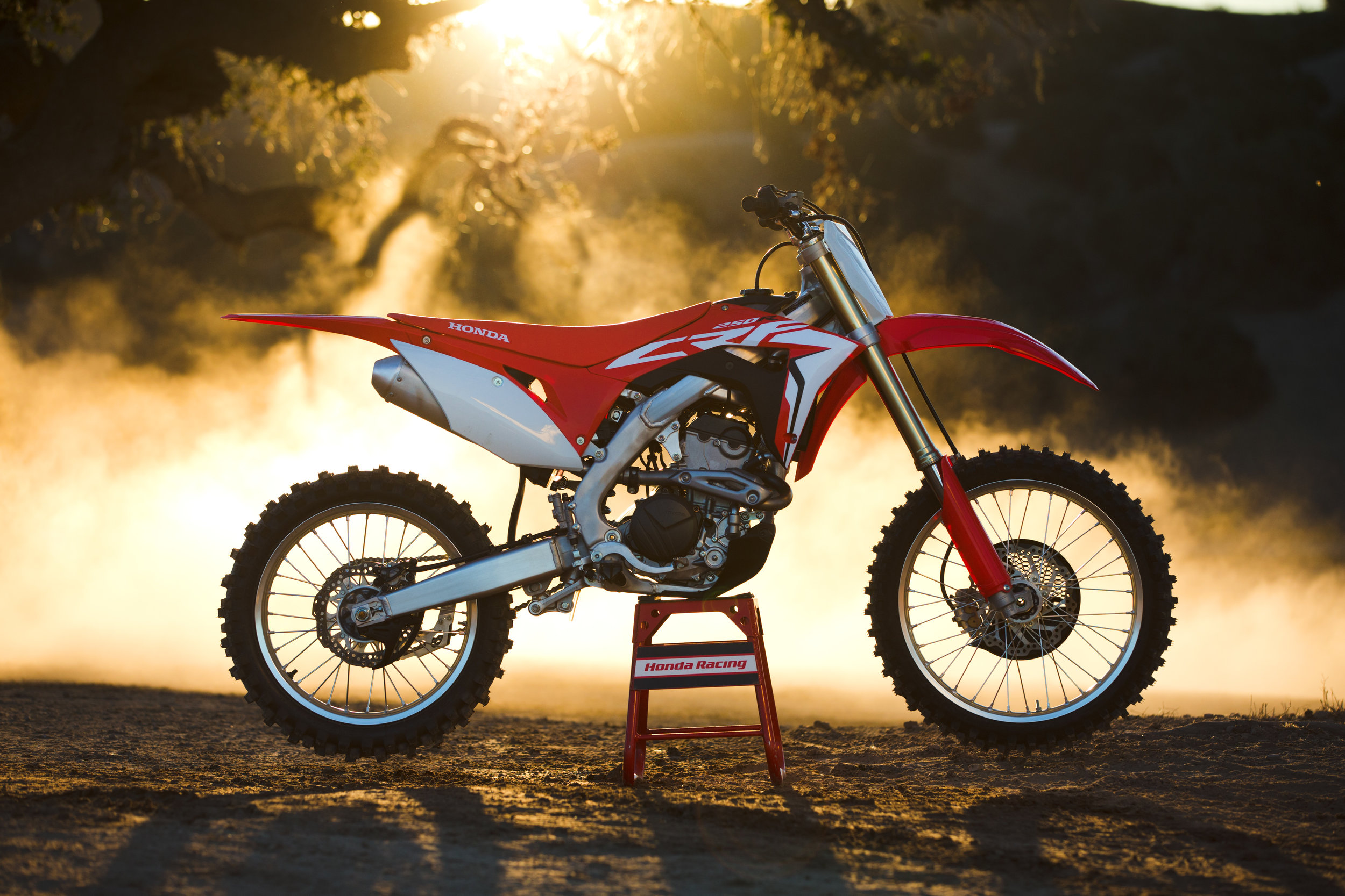 With Jonnum Media's help, Honda carried out a three-phase launch of one of its most important motocross launches in years.  Image:   HighRev Photography