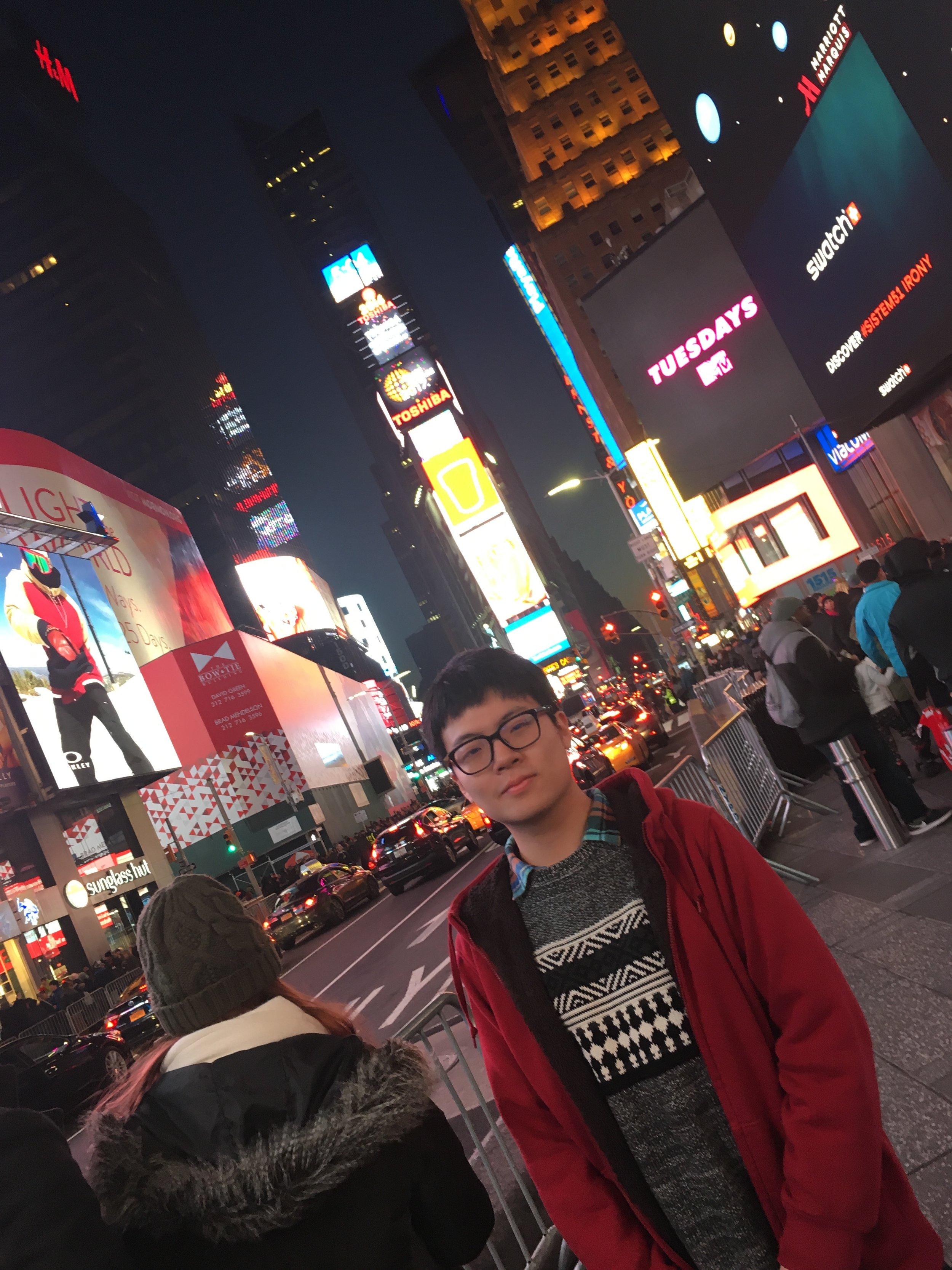 In Time Square, NY