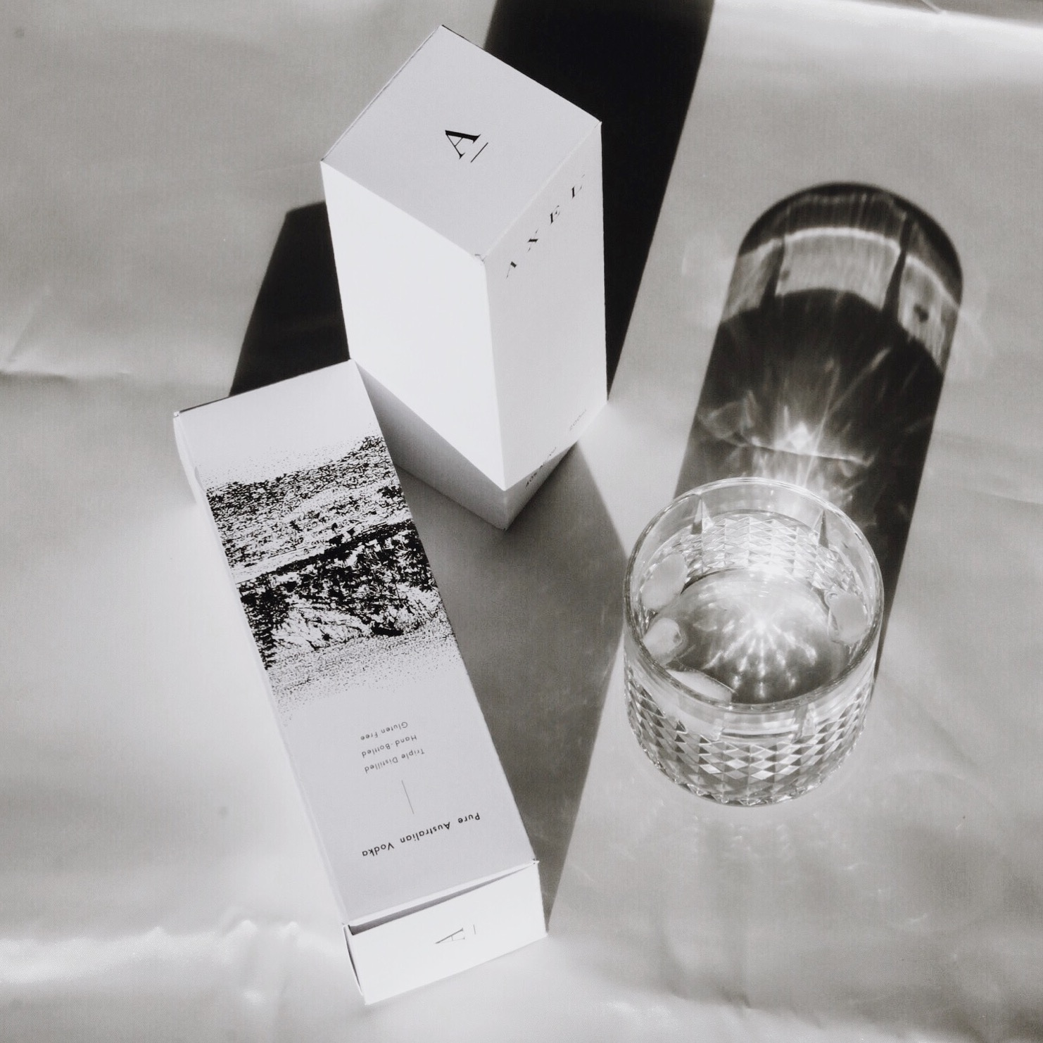 Design - Our packaging features Indigenous Artwork by Founder Remy Crick, inspired by the South Coast of New South Wales, Australia where our vodka is distilled. Axel Vodka was designed with sustainability in mind, as our bottles are recyclable and the use of 'single-use plastics' in our packaging kept to a minimum.