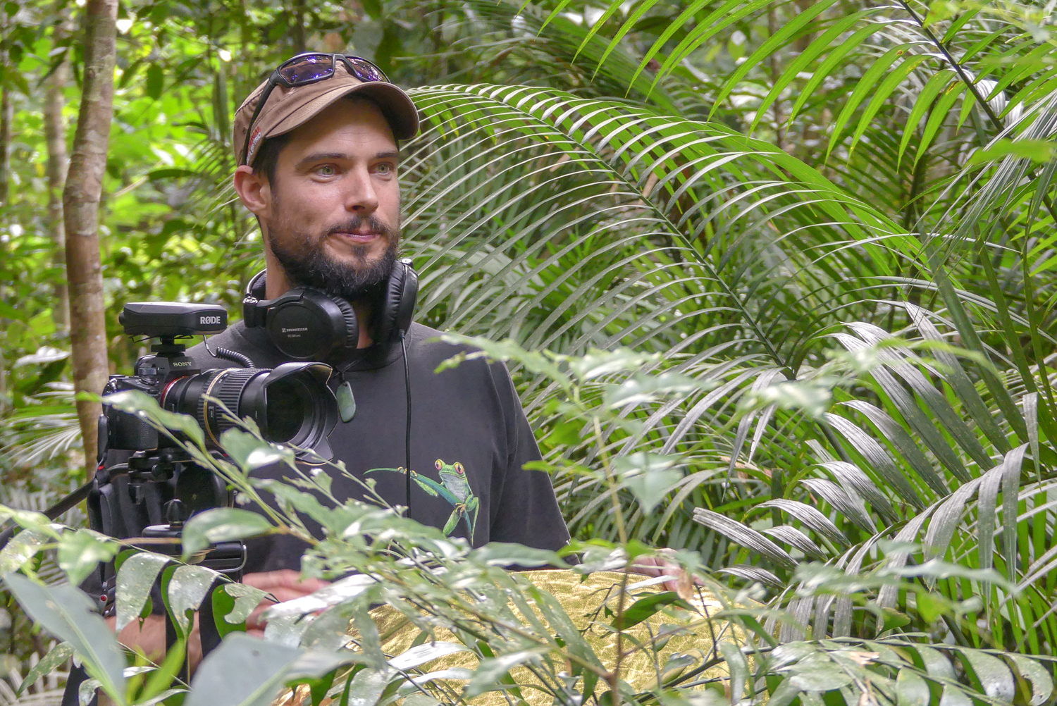Filming in one of the most bio-diverse and oldest surviving rainforests in the world, The Daintree Rainforest.