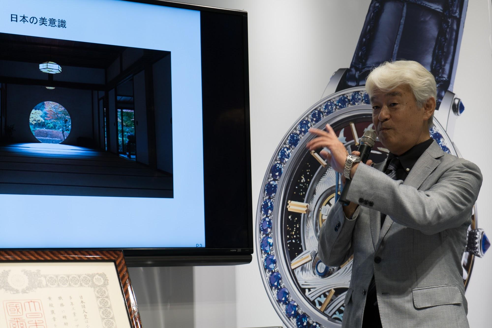 Kosugi-san discusses inspirations