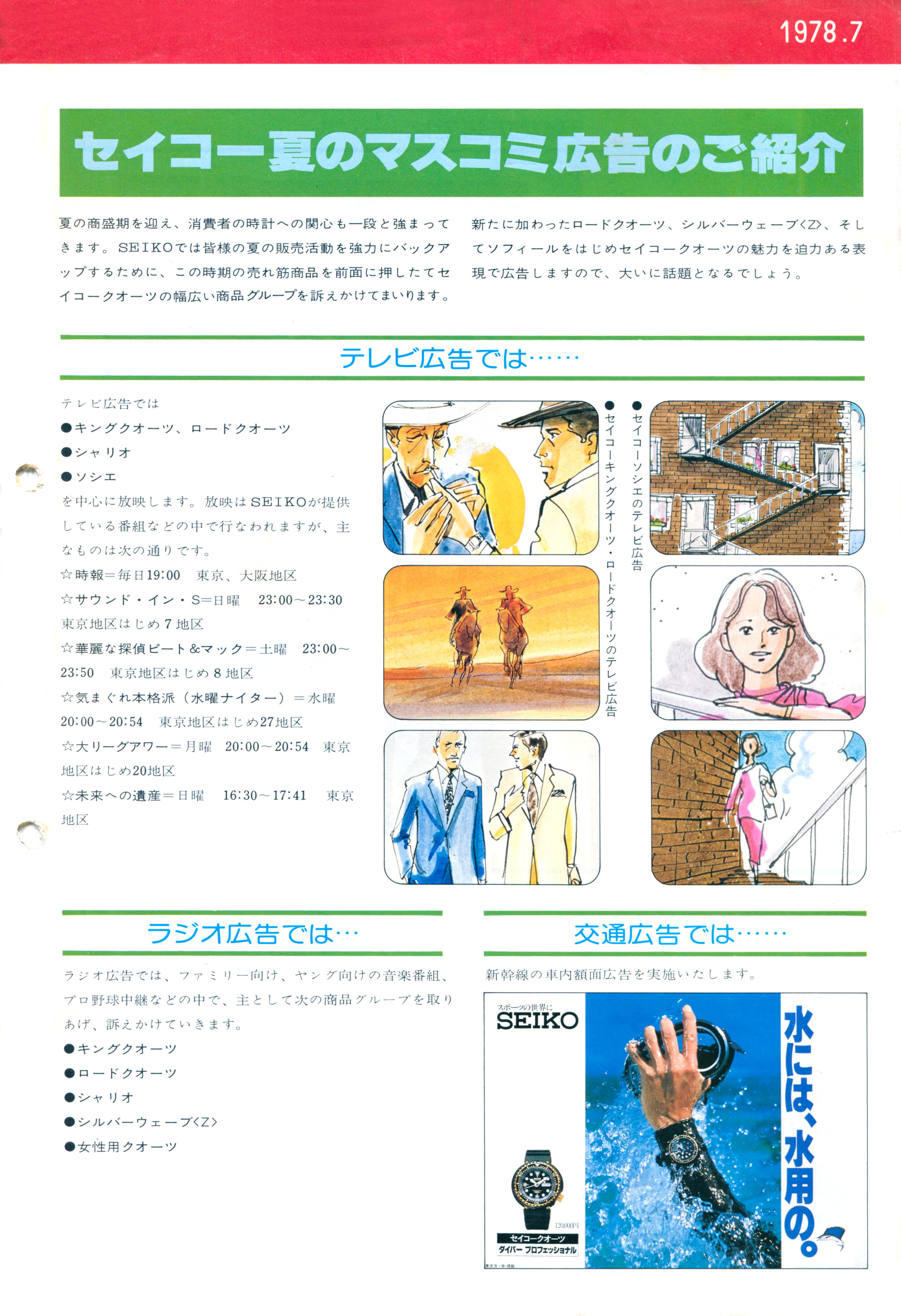 Seiko News 1978-7