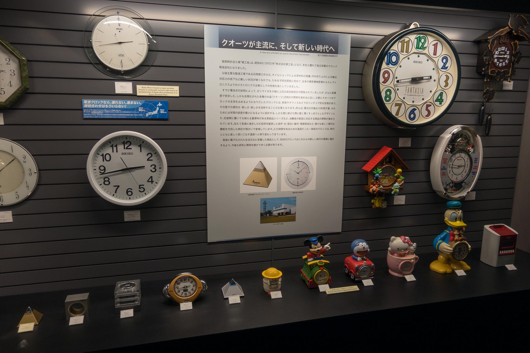 Character Clocks