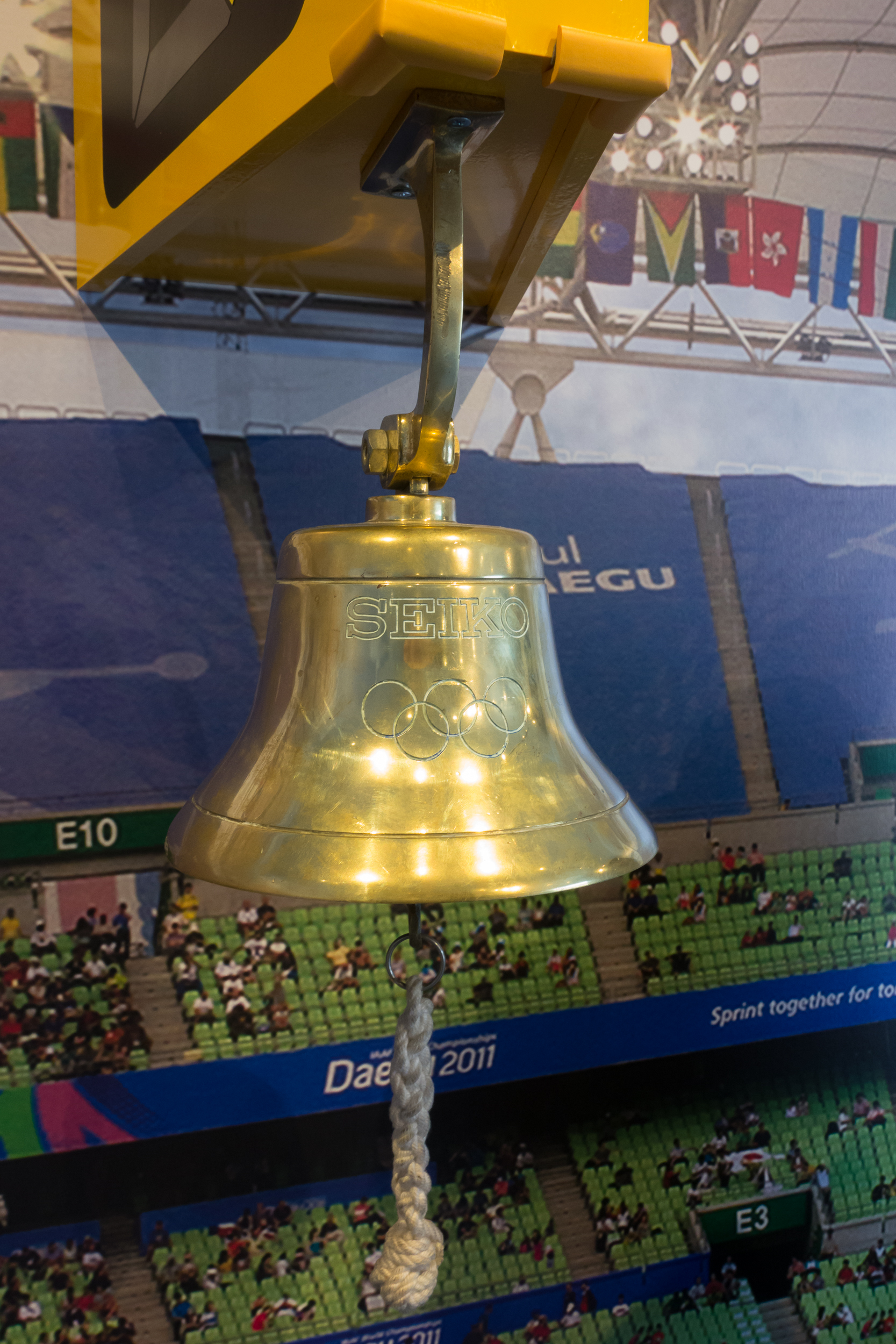 1964 Olympic Track Bell