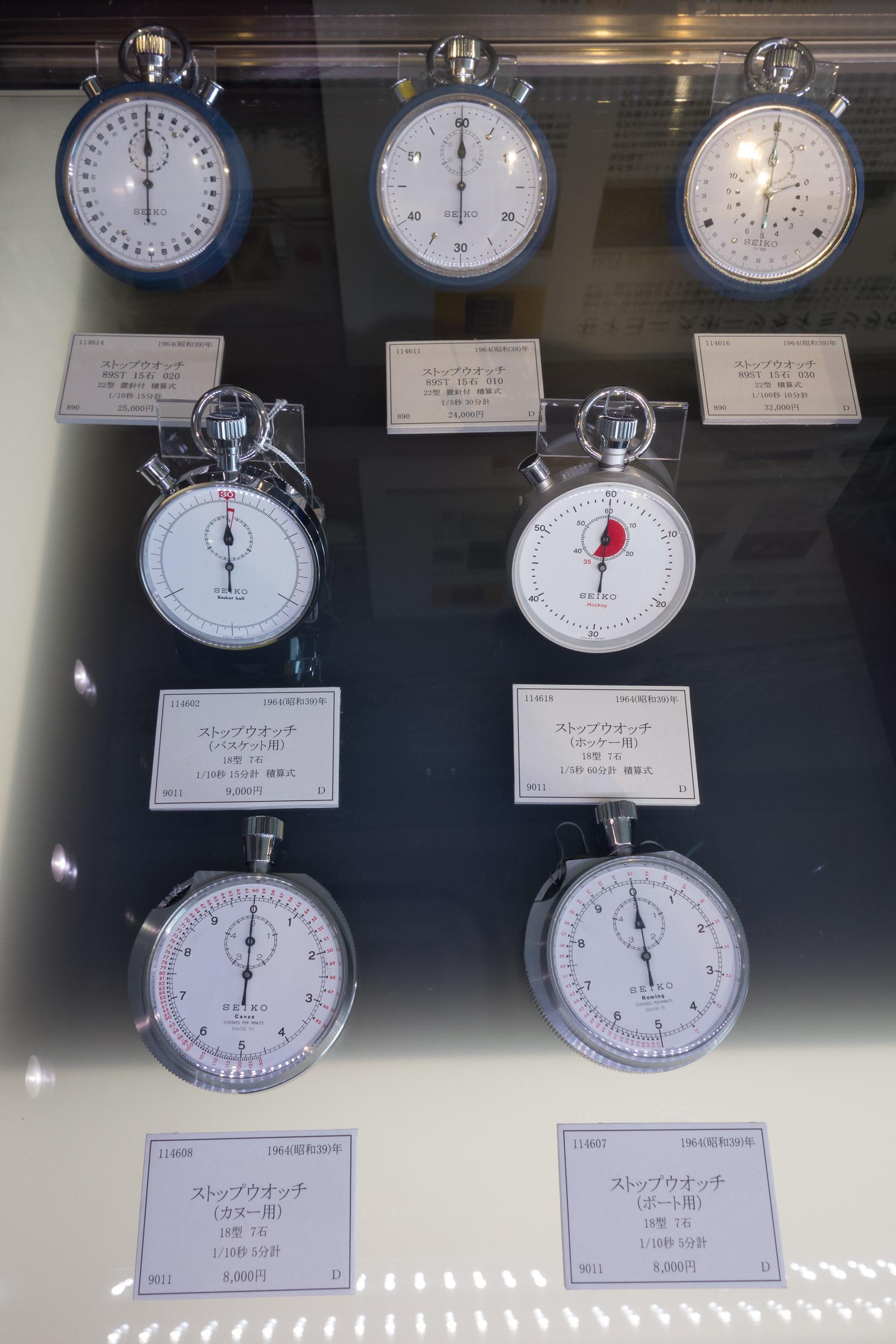 890 & 9011 Stopwatches