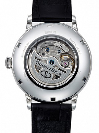 Orient Star Moon Phase Case Back