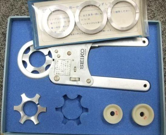 Seiko S-13 Waterproof Watch Crystal Tension Ring 2.JPG