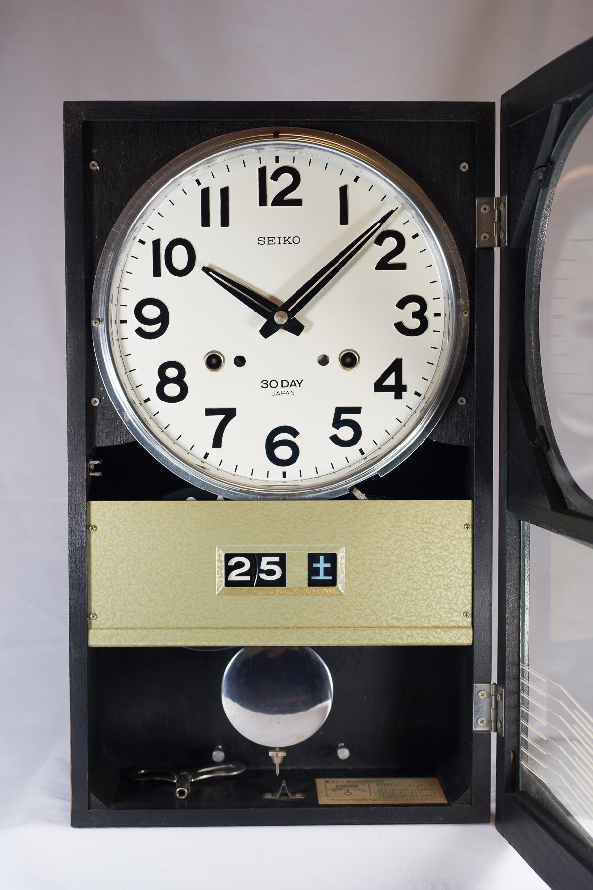 4PC436N Seiko 30 Day Clock