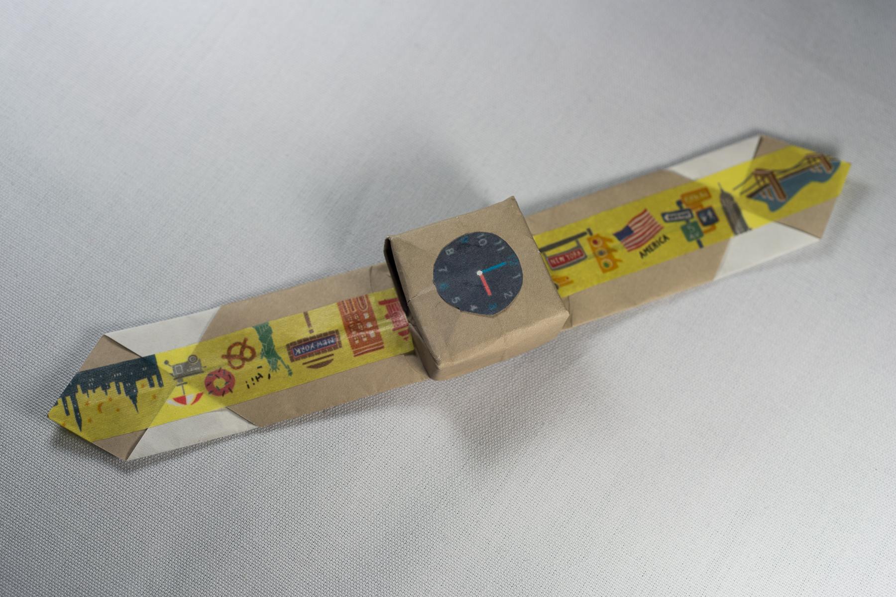 Origami watch