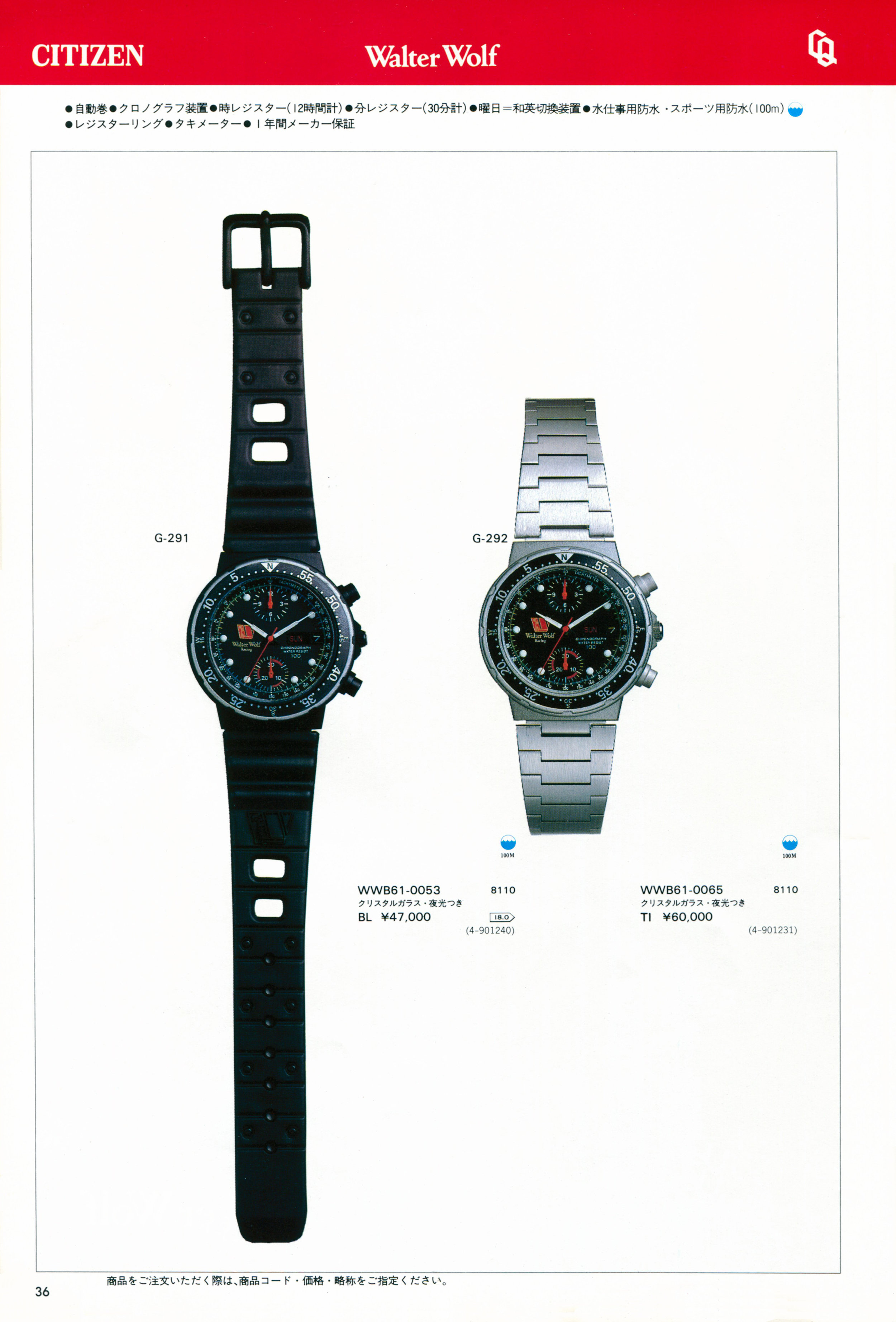 Citizen 1983-6 JDM Catalog