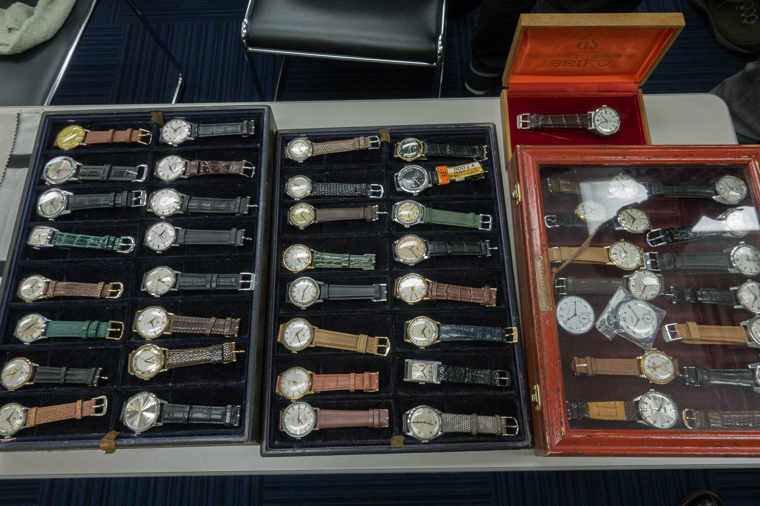 Wide range of watches