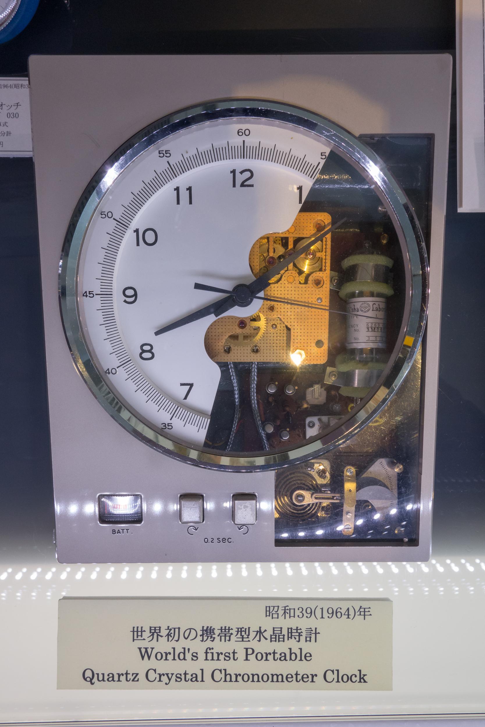 Crystal Chronometer Cut Away