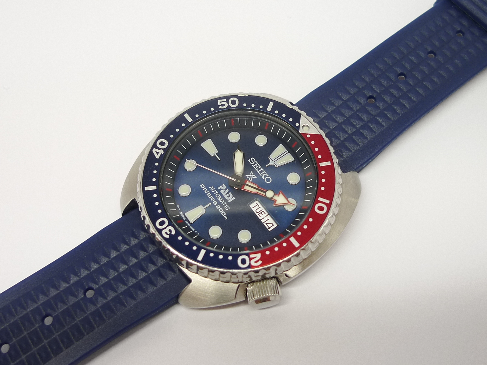 Uncle Seiko Blue
