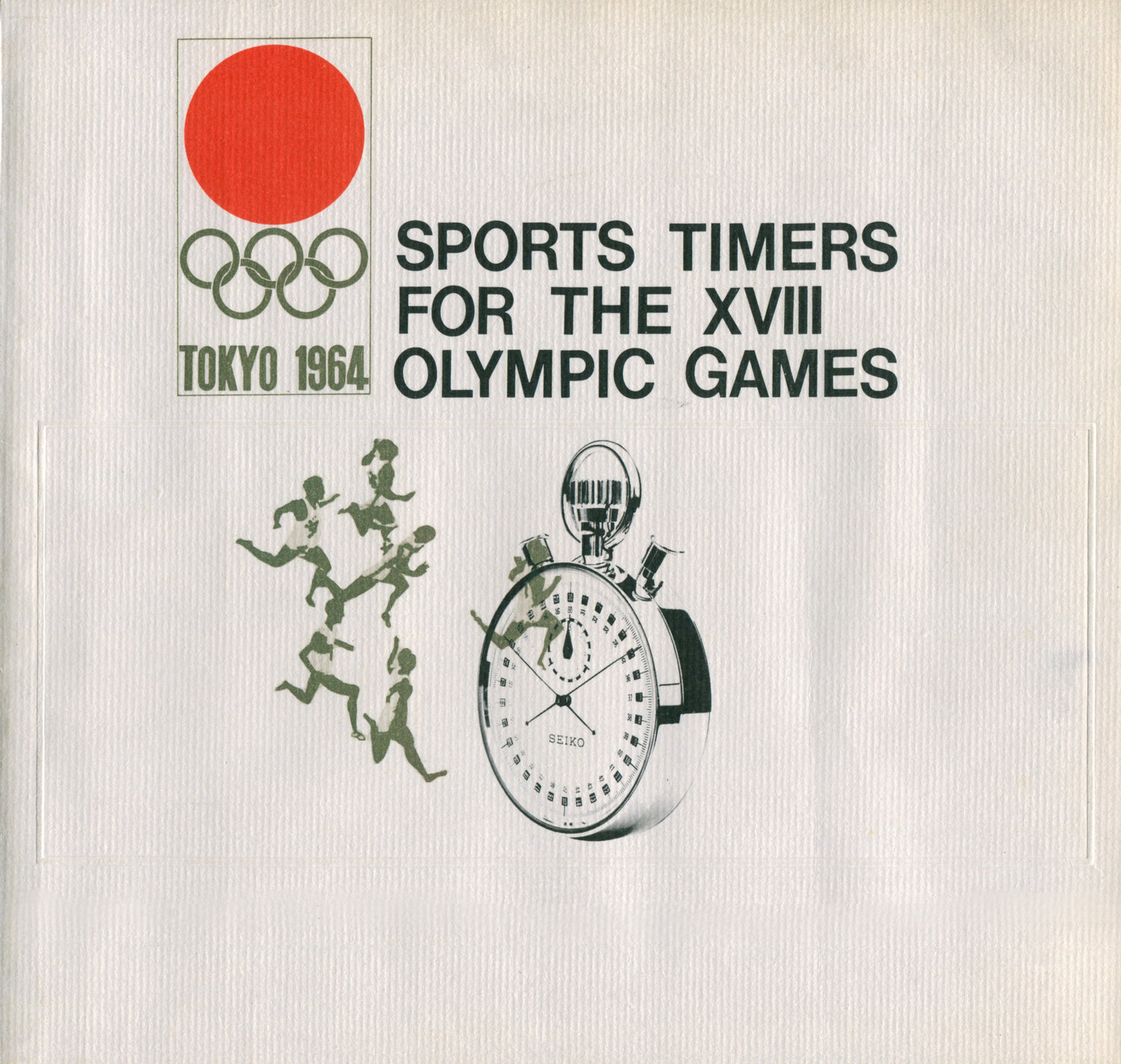 1964 Games Timers Booklet