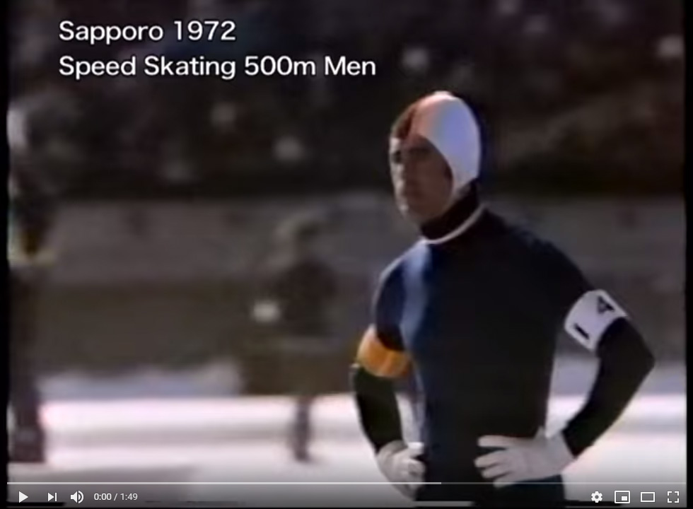 Olympics Sapporo 1972 Speed Skating Mens 500m