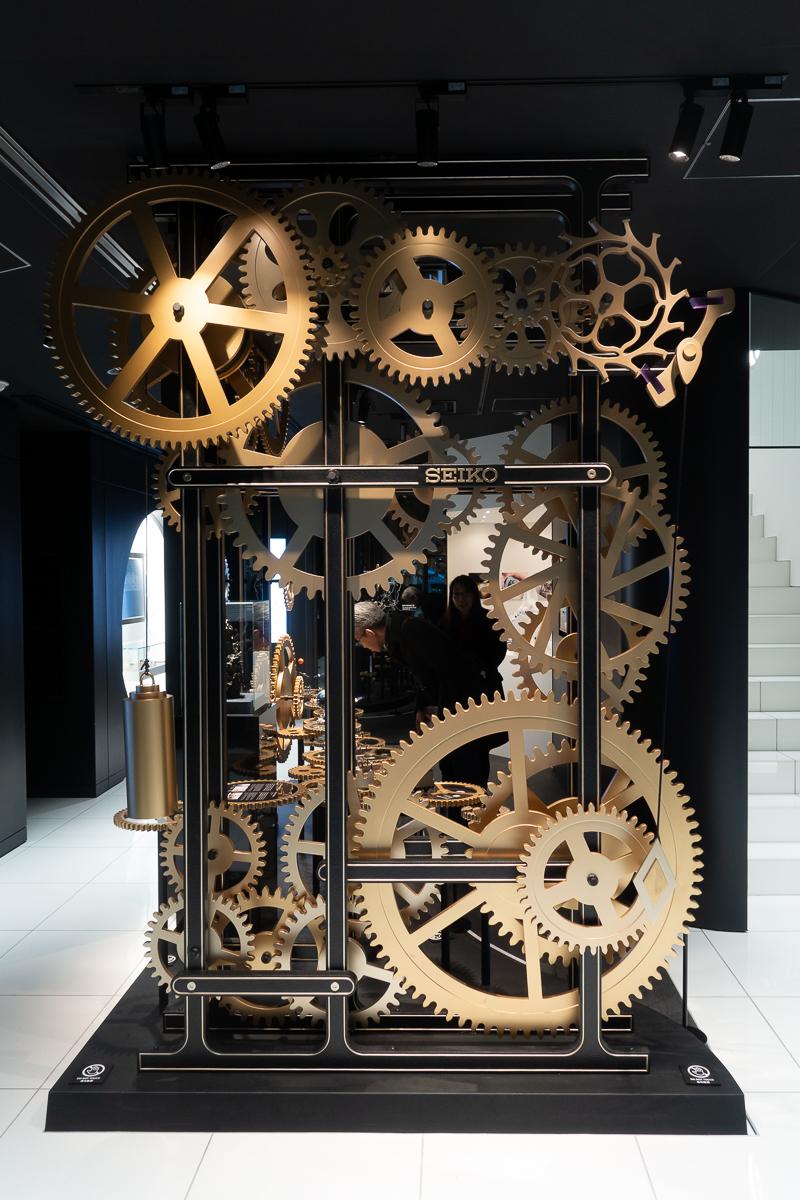 Tower Clock Sculpture