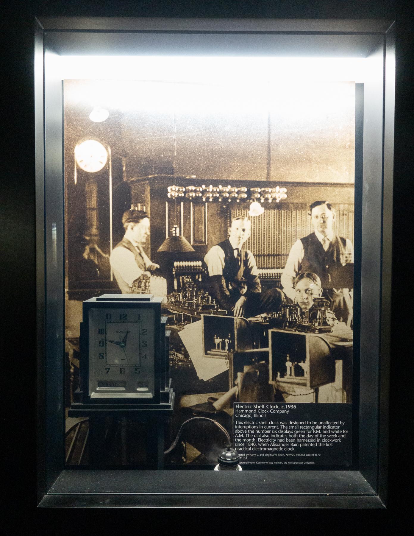 Electric Shelf Watch