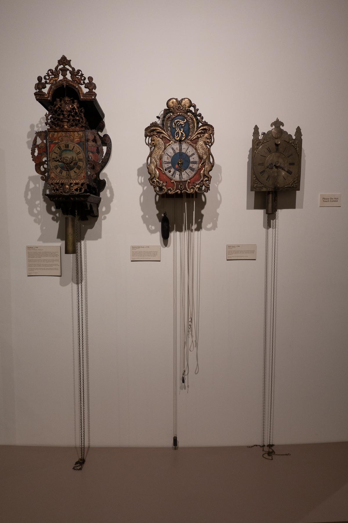 Early Wall Clocks