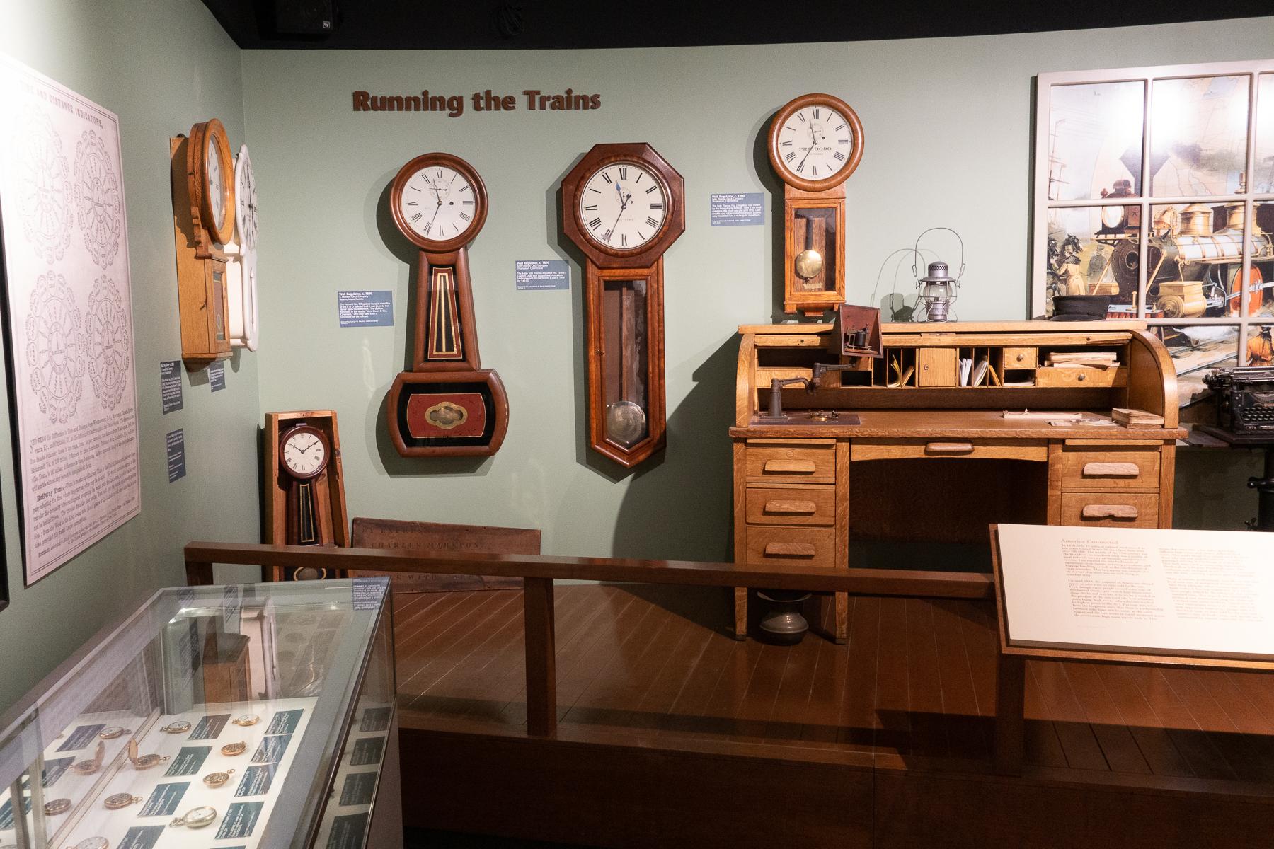 Railroad Clocks