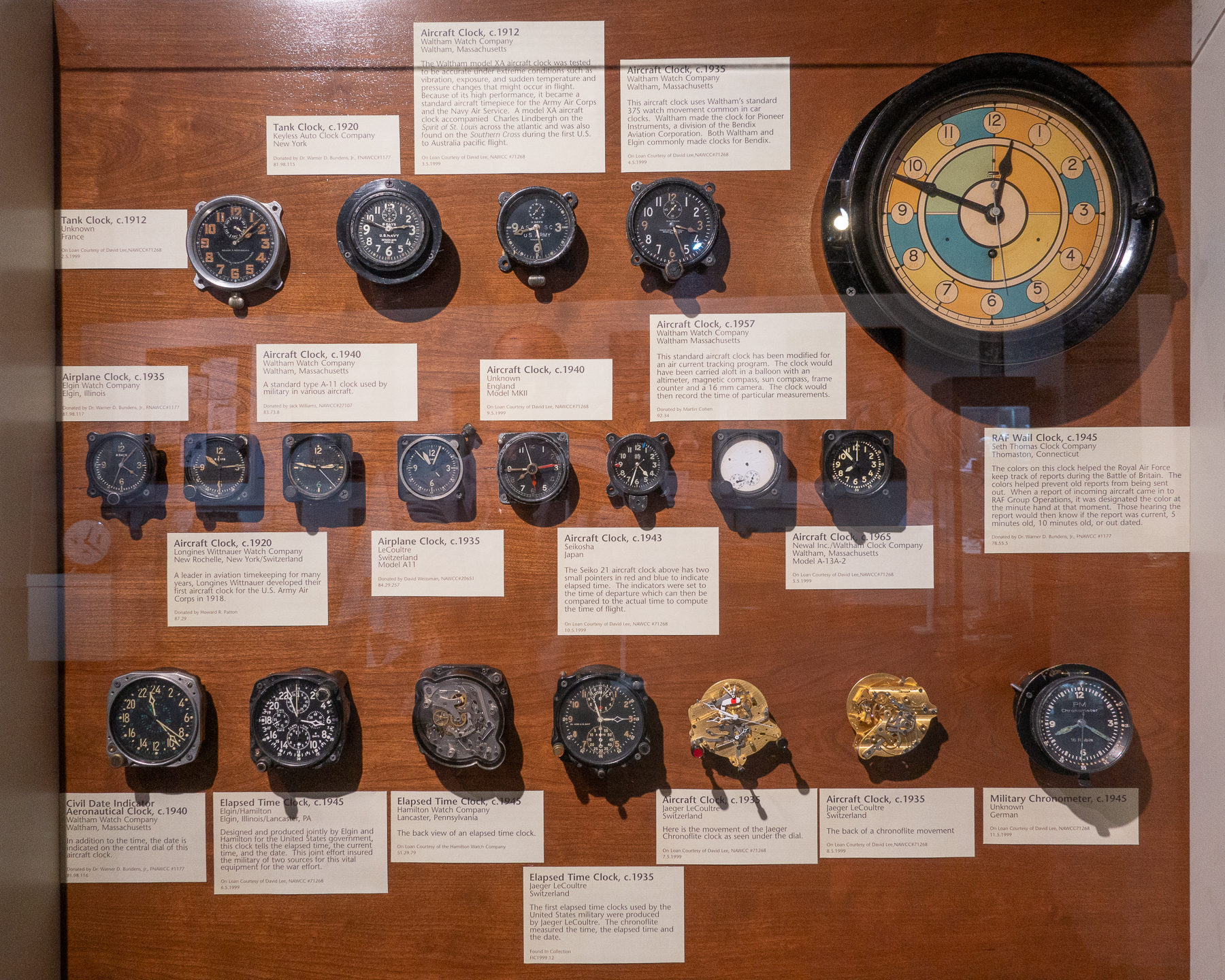 Aircraft Clocks