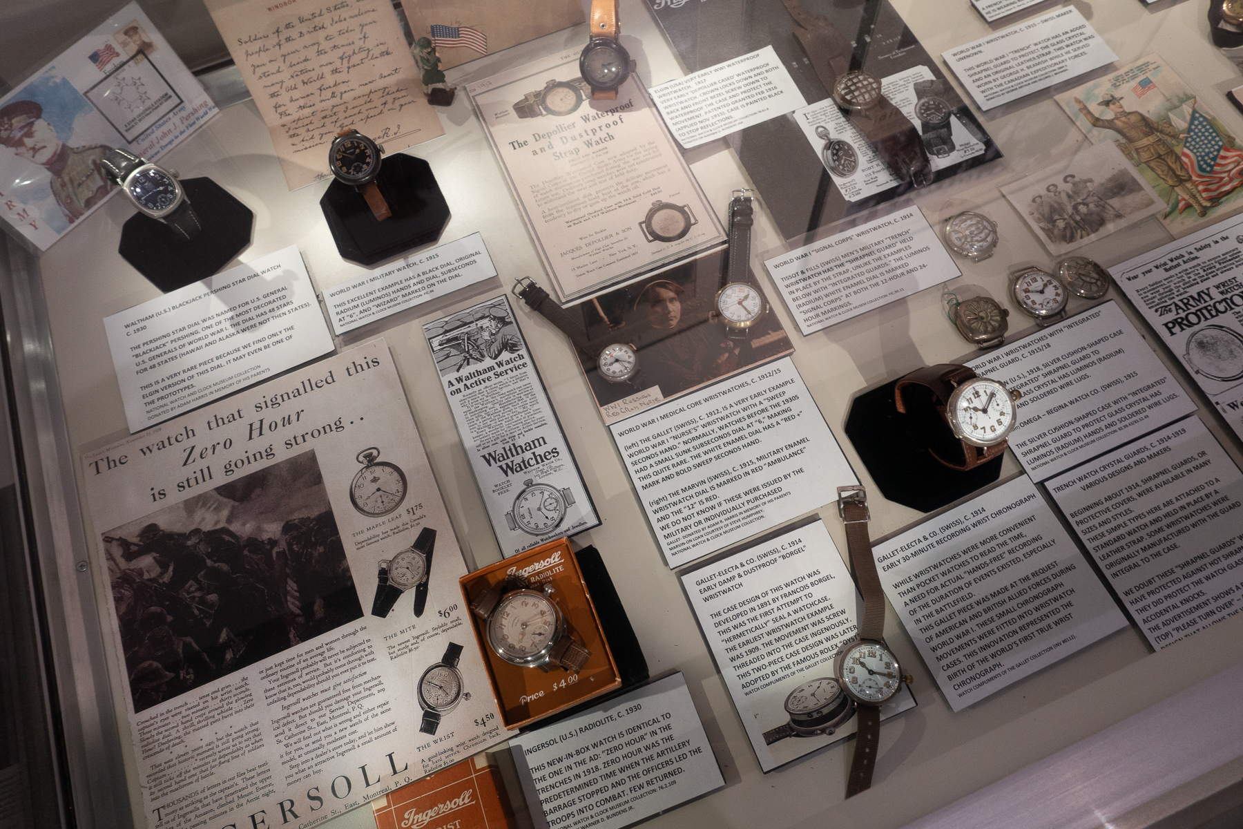 Early Wrist Watches