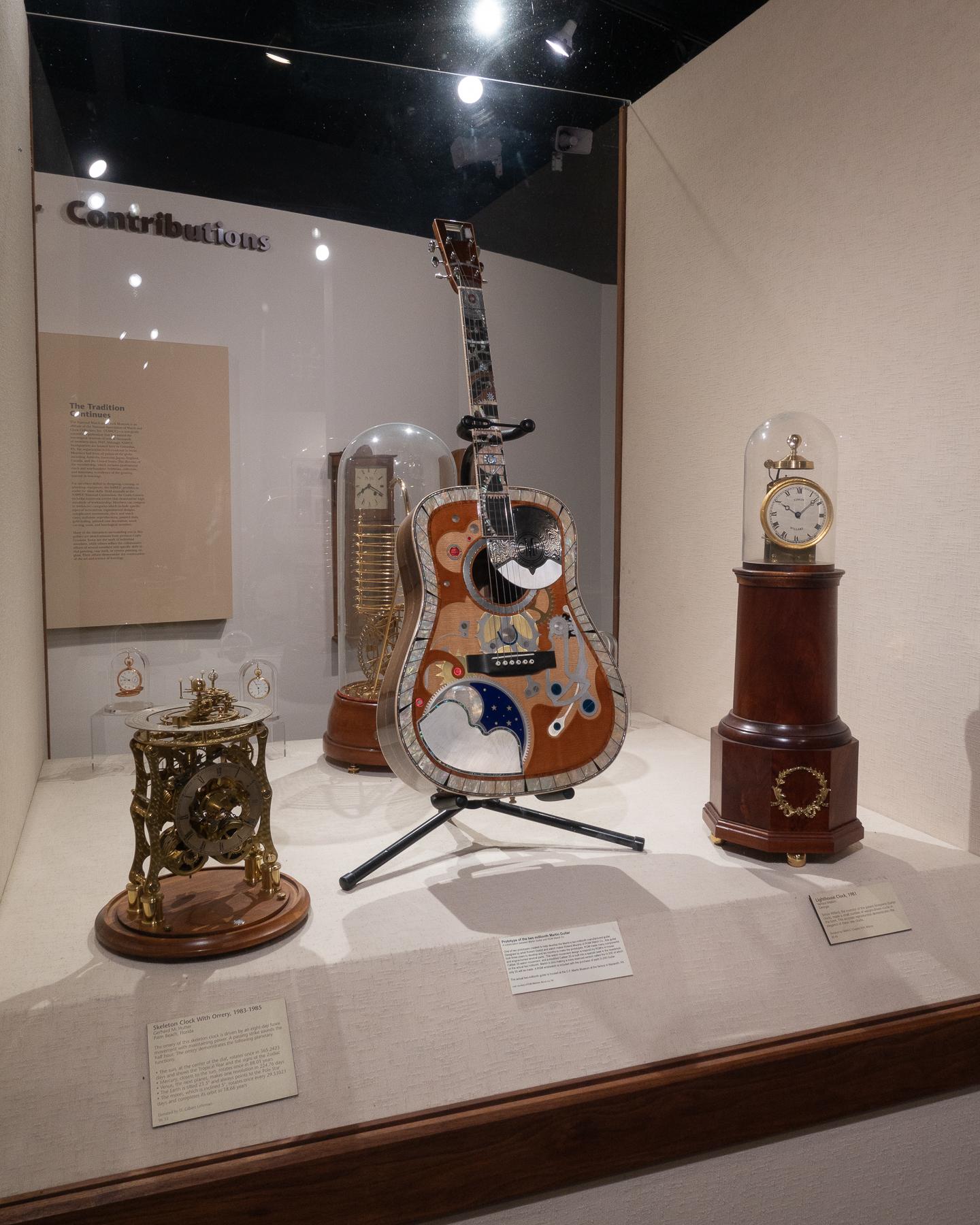 Clocks & Guitar