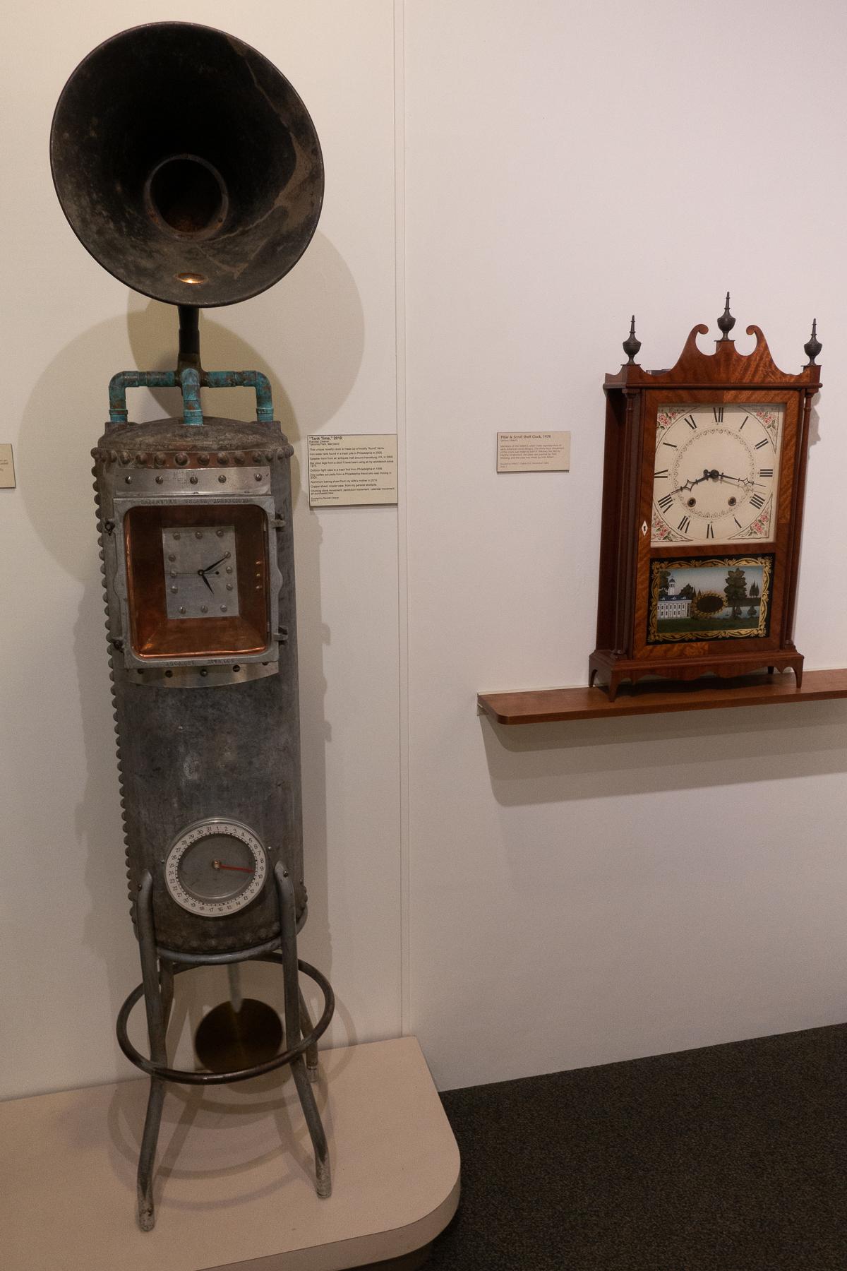 Time Tank & Shelf Clock