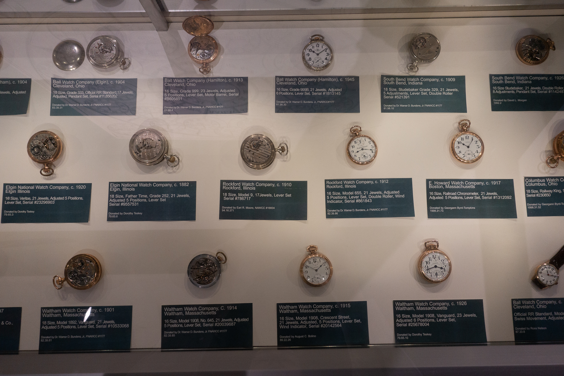 American Pocket Watches